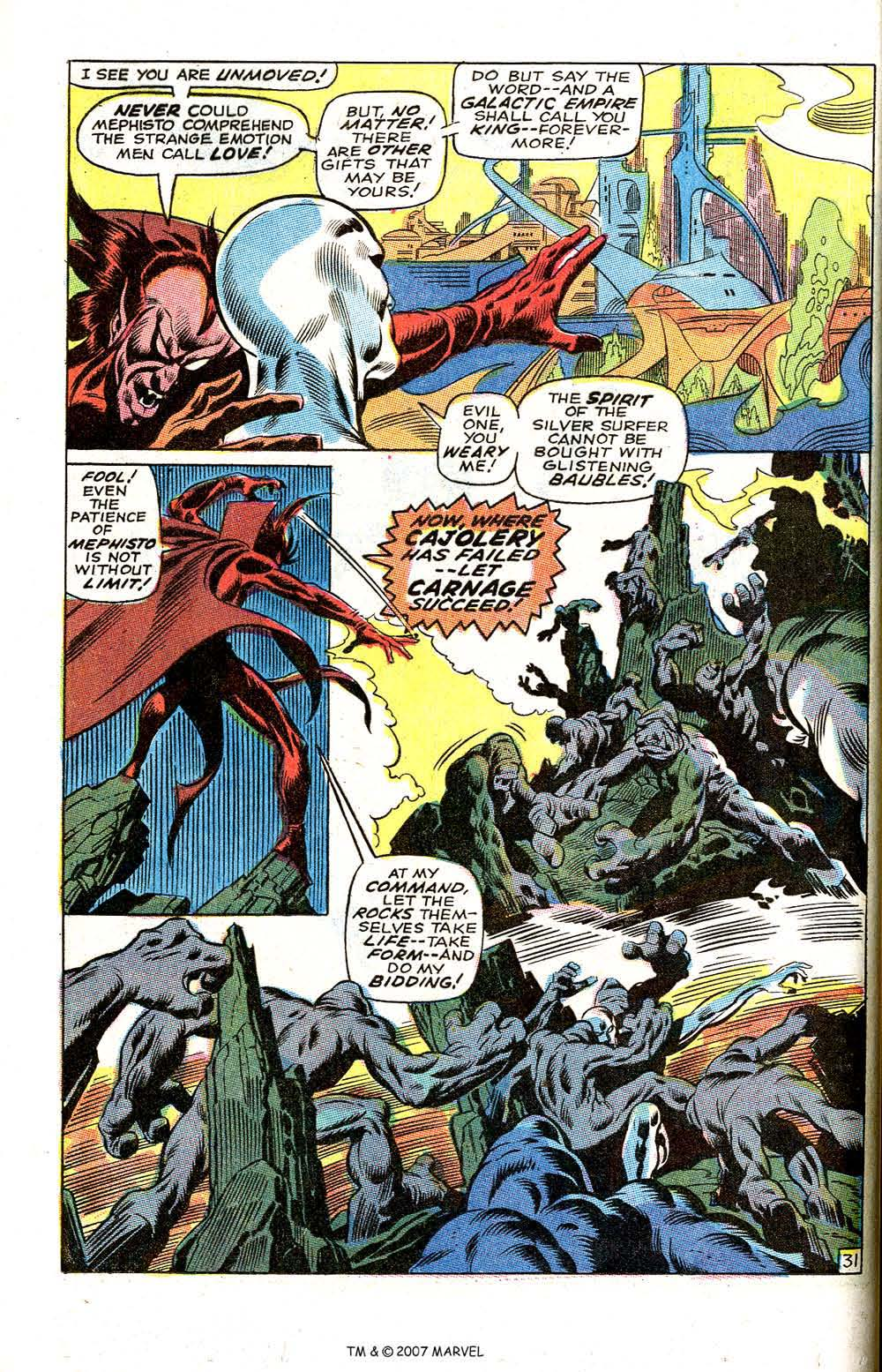 Silver Surfer (1968) issue 3 - Page 38