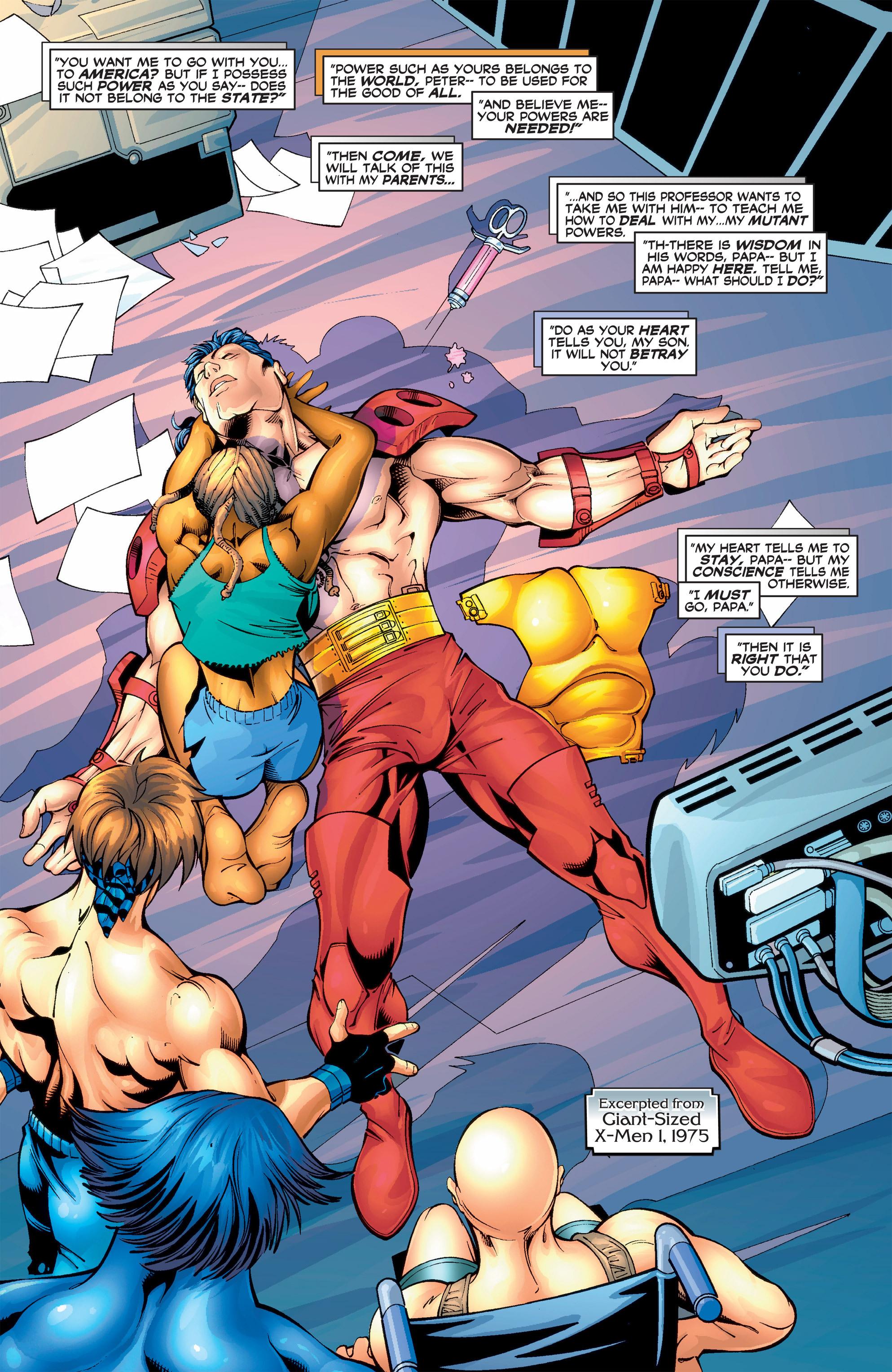 Read online Uncanny X-Men (1963) comic -  Issue #390 - 21