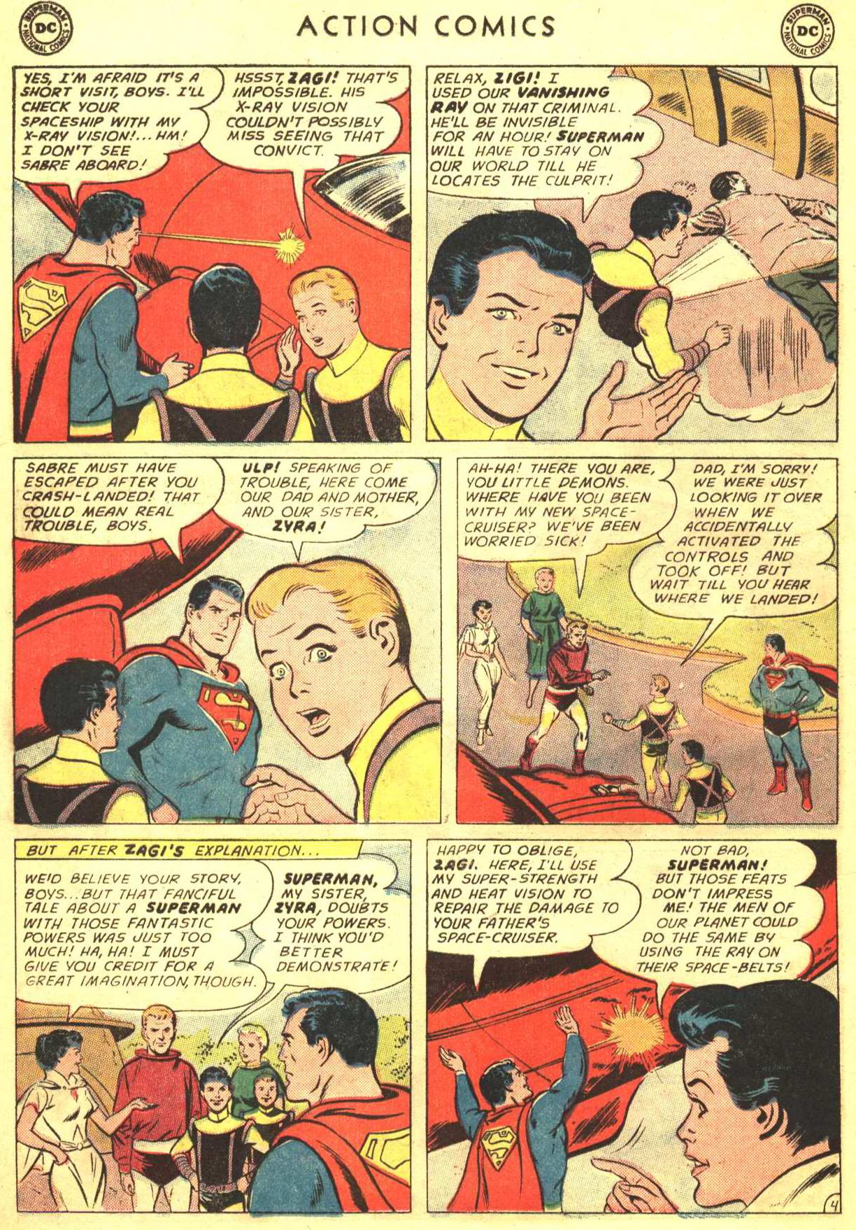 Read online Action Comics (1938) comic -  Issue #316 - 5