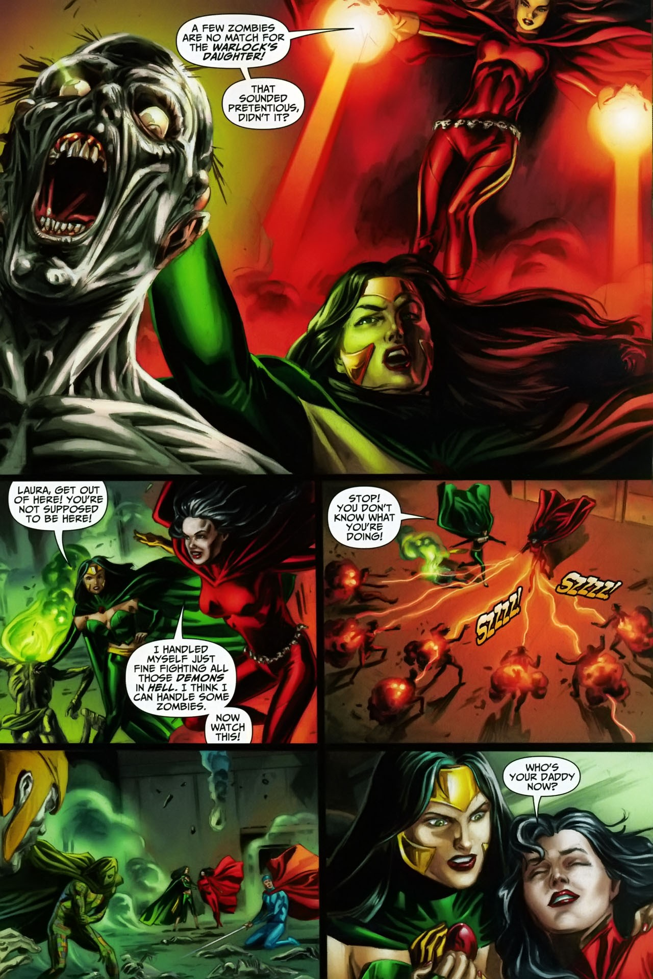 Read online Shadowpact comic -  Issue #17 - 7