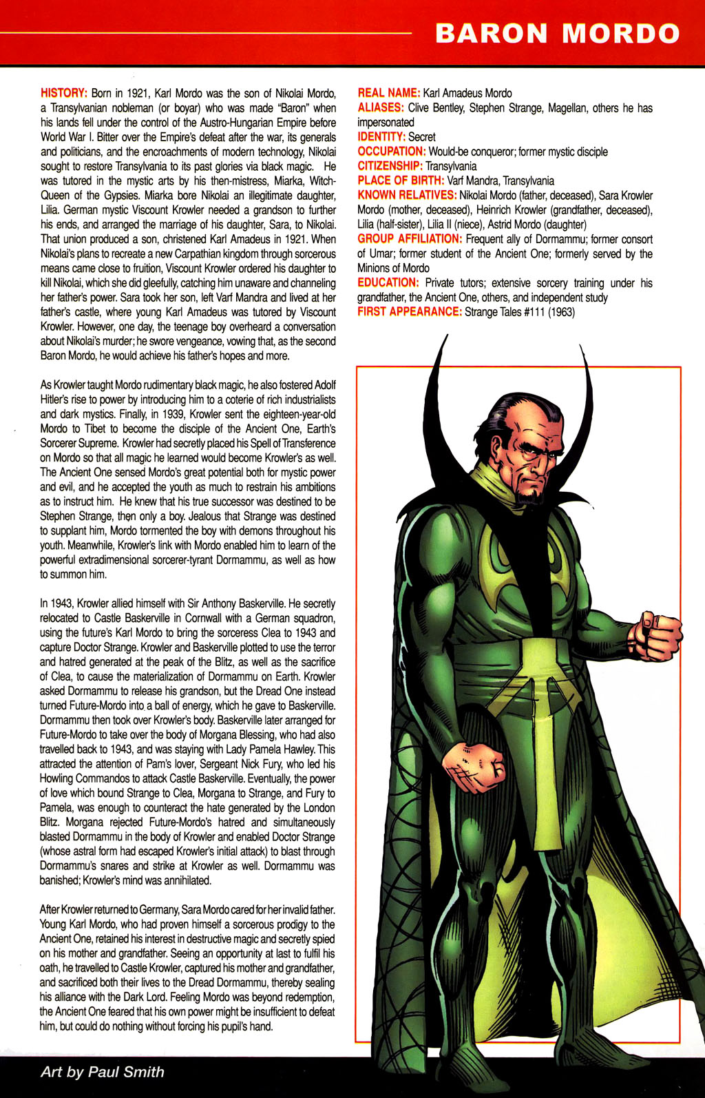 Read online All-New Official Handbook of the Marvel Universe A to Z comic -  Issue #1 - 57
