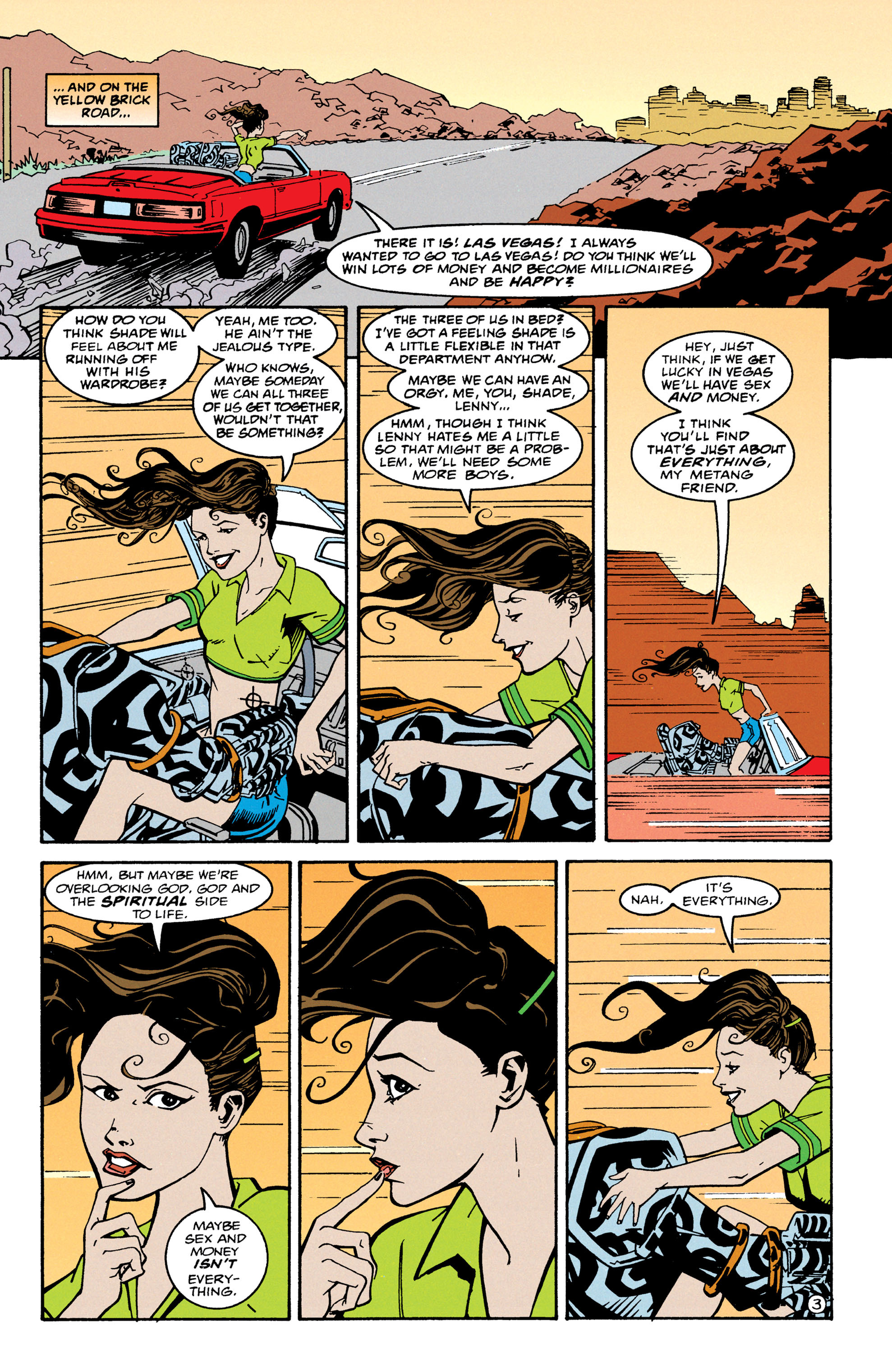 Read online Shade, the Changing Man comic -  Issue #67 - 4