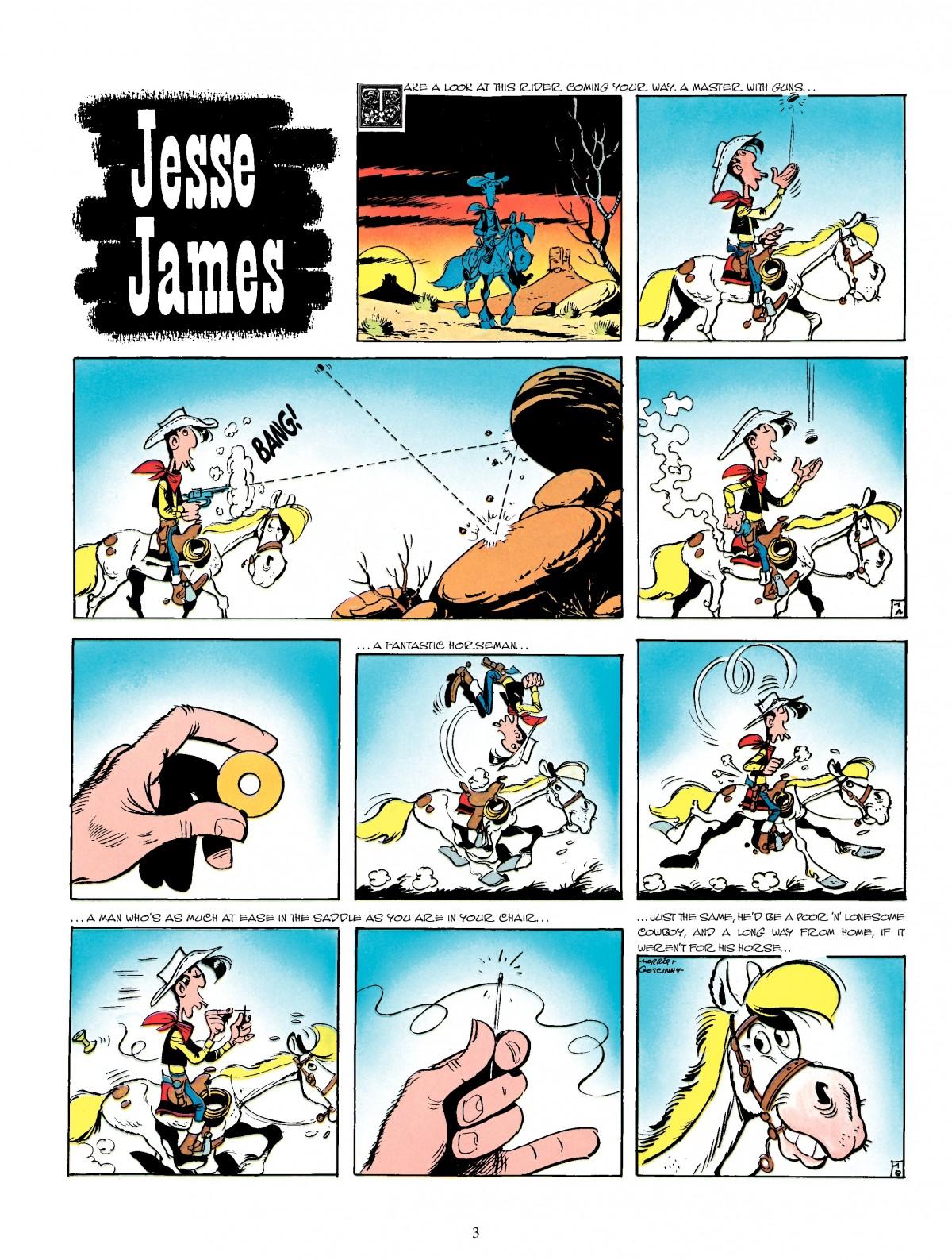 Read online A Lucky Luke Adventure comic -  Issue #4 - 5