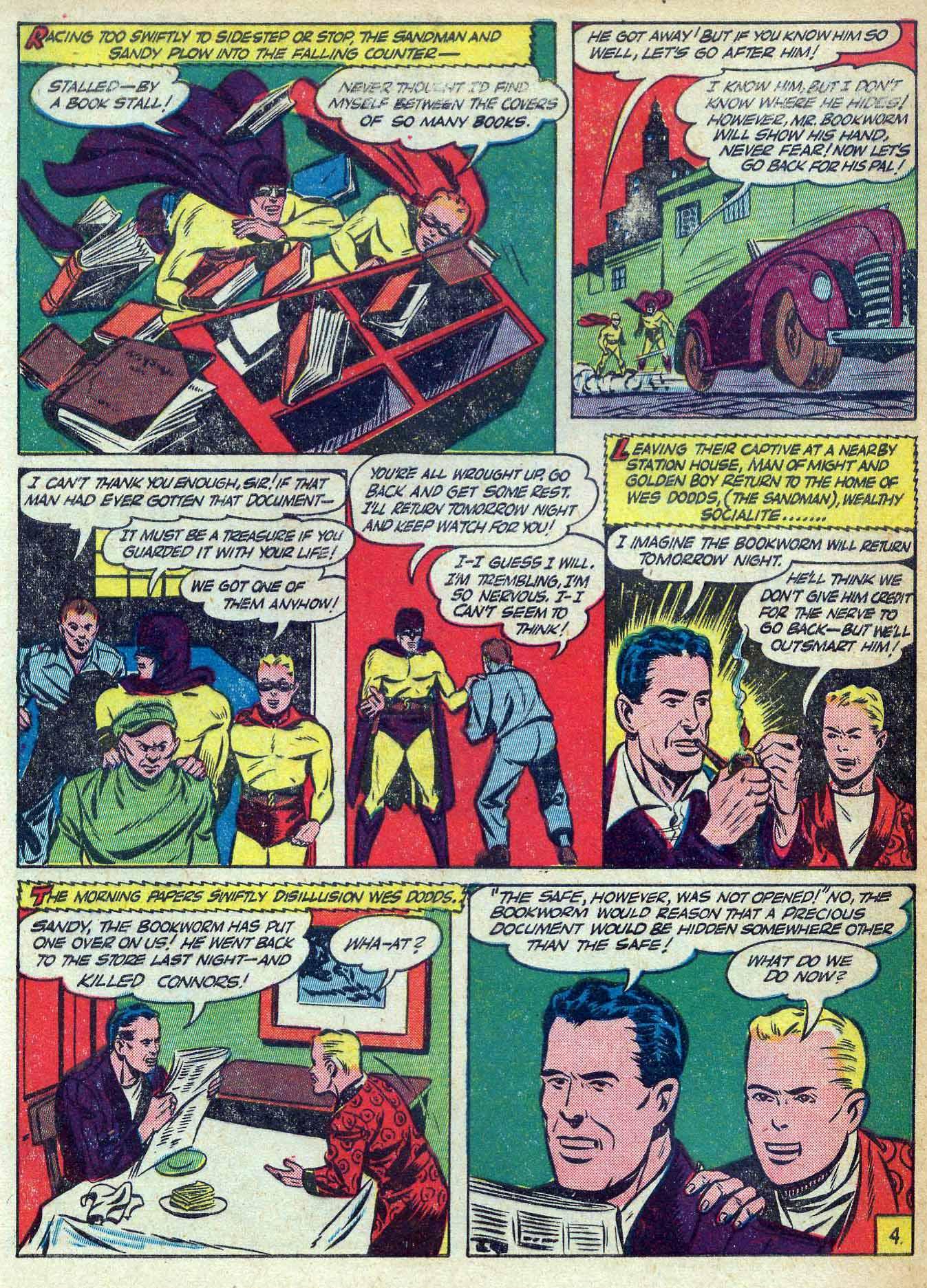 Read online Adventure Comics (1938) comic -  Issue #70 - 62