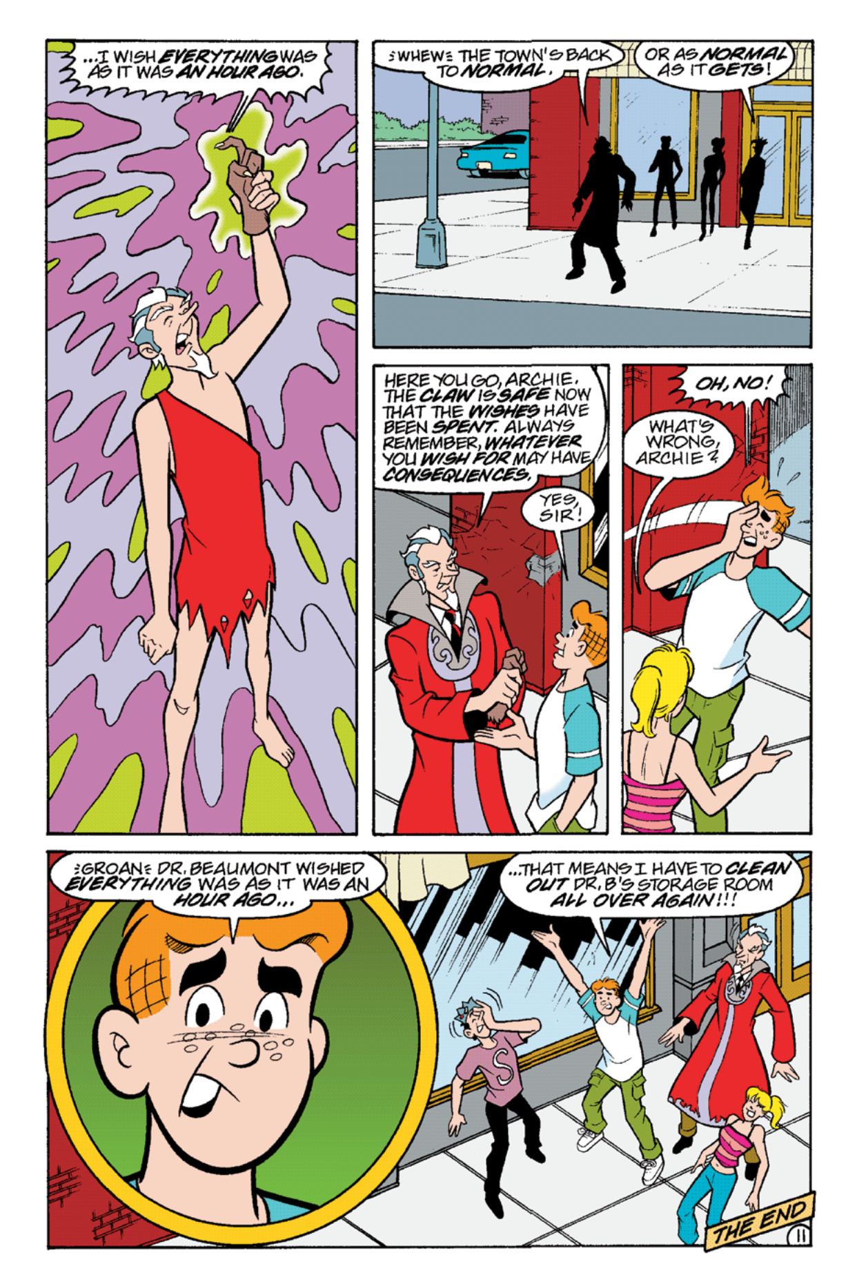 Read online Archie's Weird Mysteries comic -  Issue #21 - 24
