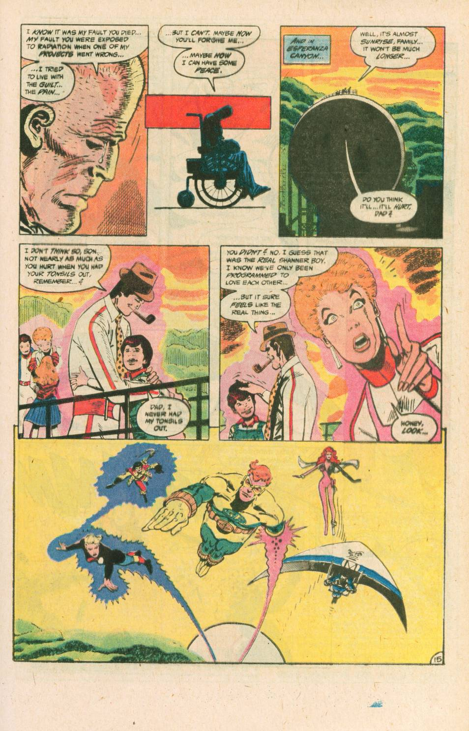 Read online Adventures of the Outsiders comic -  Issue #40 - 16