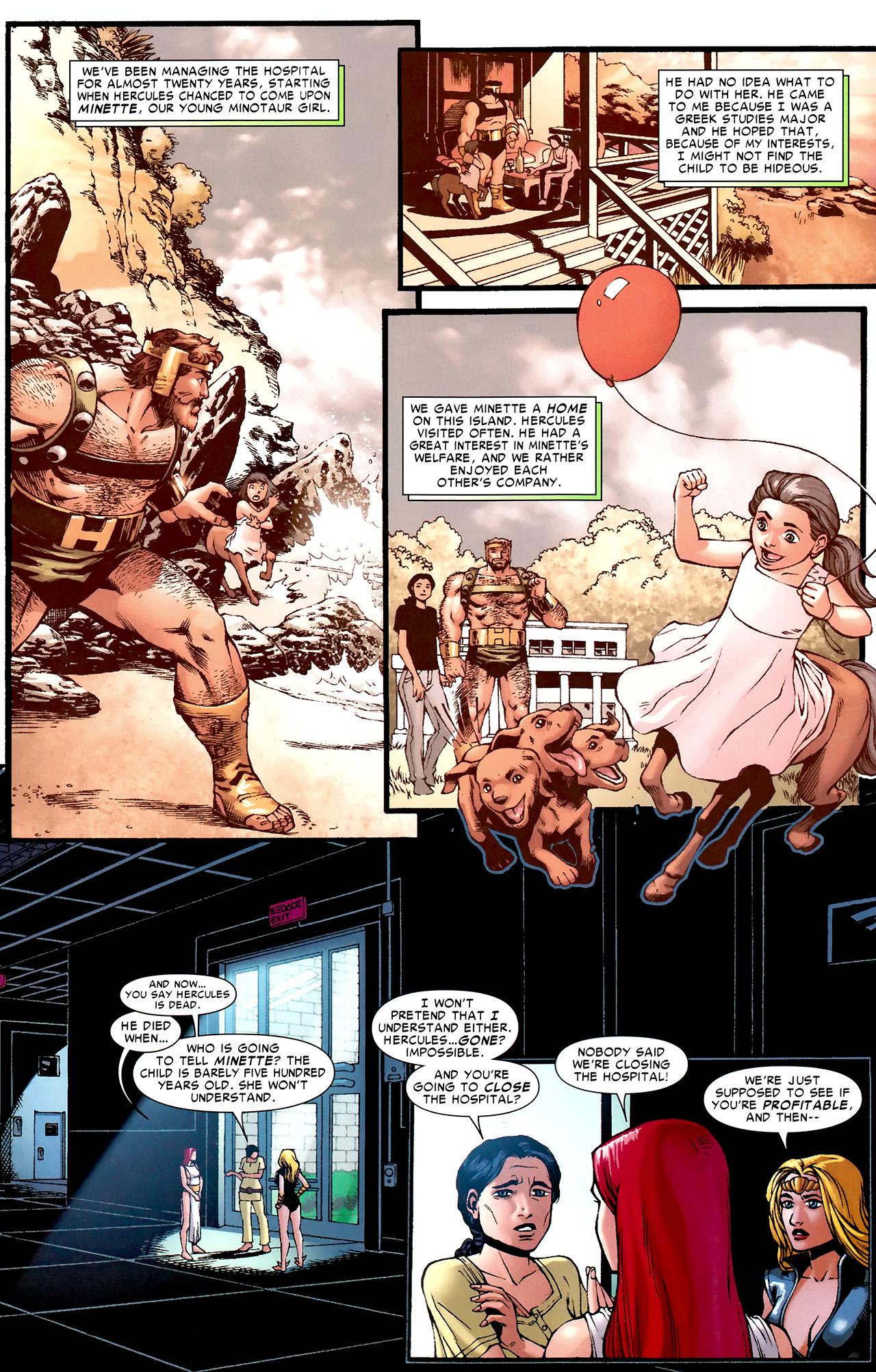 Read online Hercules: Fall of an Avenger comic -  Issue #2 - 28