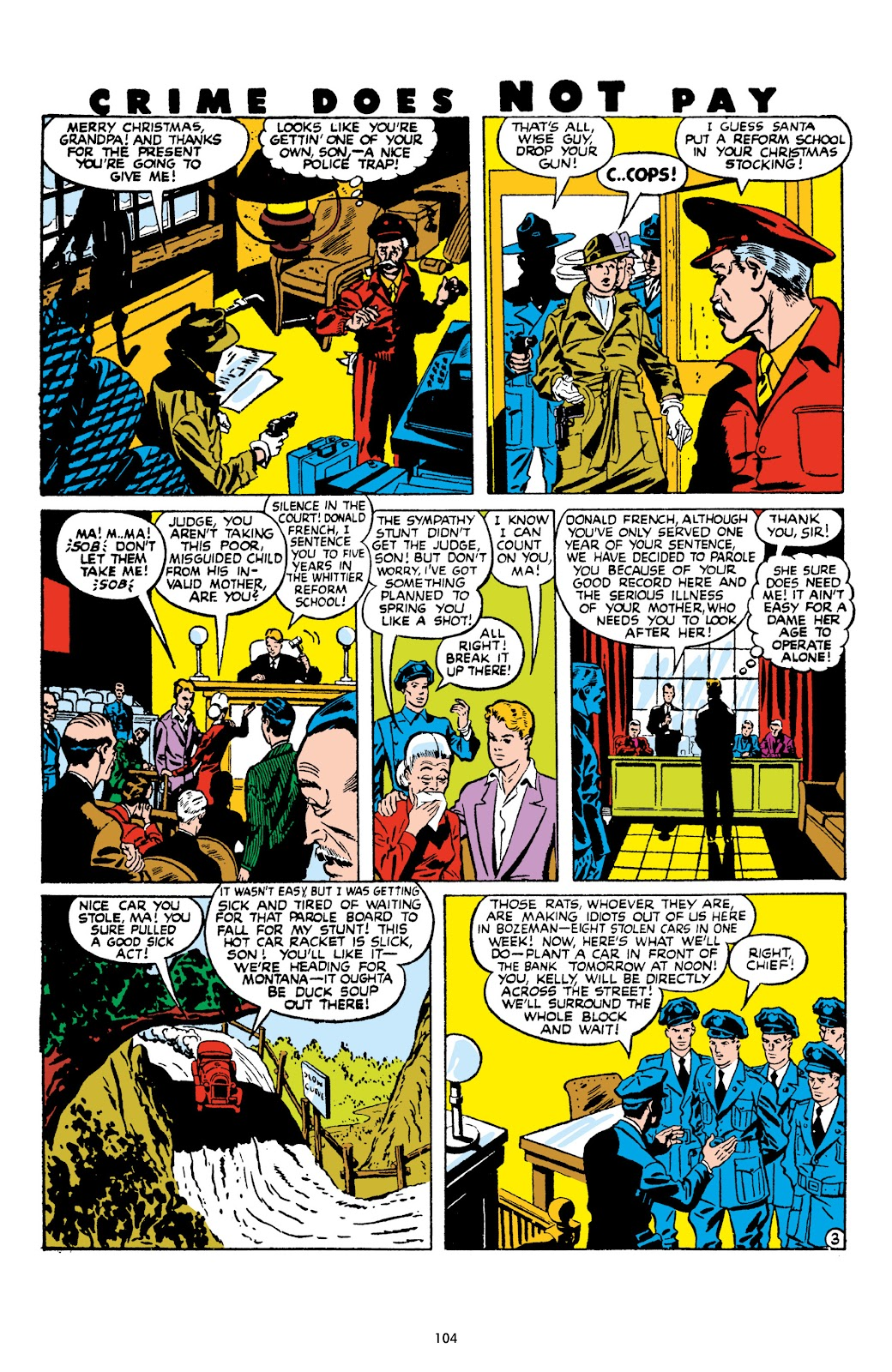 Read online Crime Does Not Pay Archives comic -  Issue # TPB 9 (Part 2) - 6