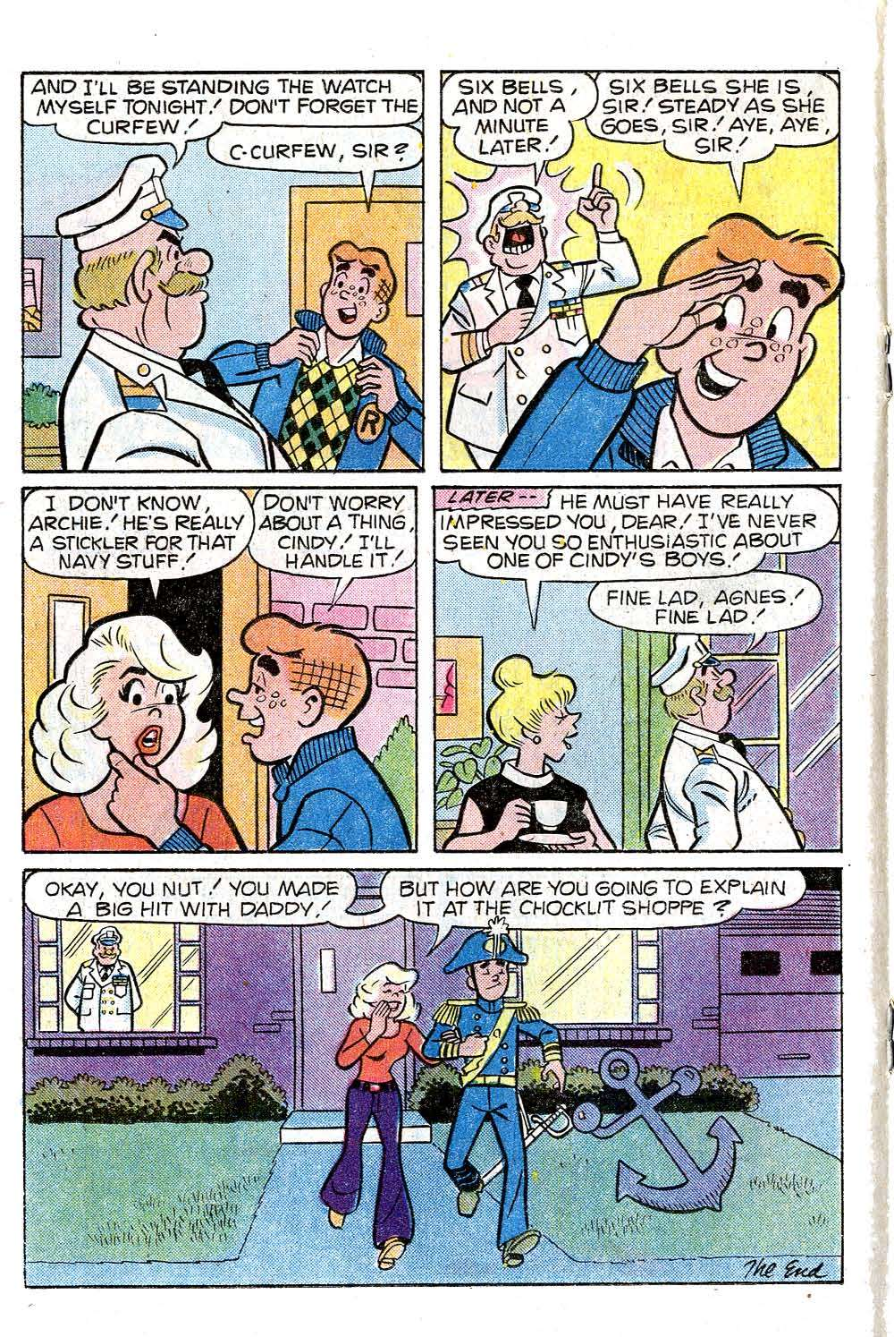Read online Archie (1960) comic -  Issue #272 - 18