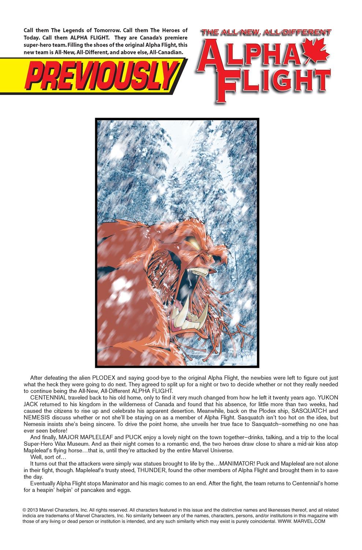 Read online Alpha Flight (2004) comic -  Issue #9 - 2