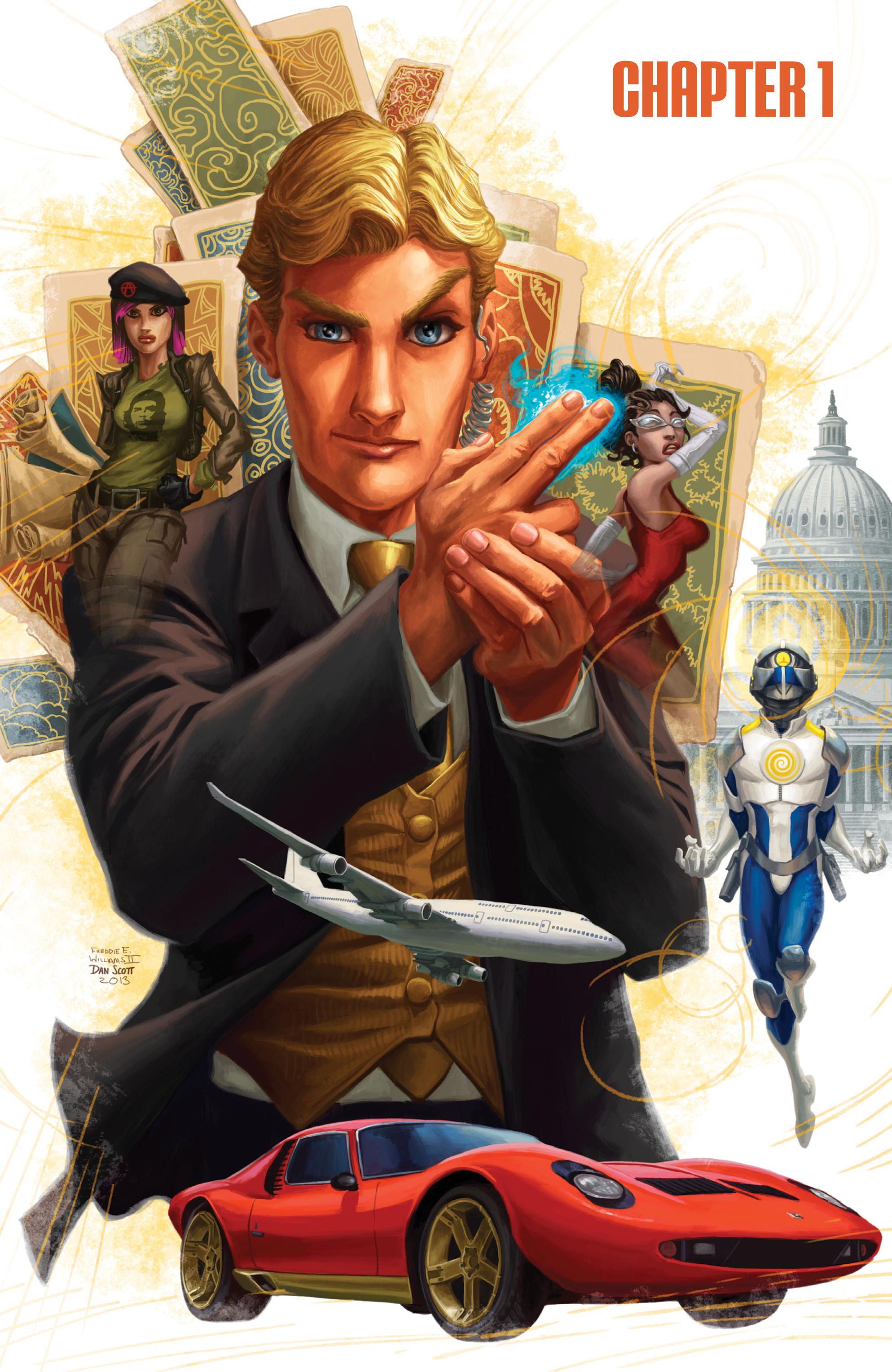 Read online Brain Boy:  The Men from G.E.S.T.A.L.T. comic -  Issue # TPB - 6