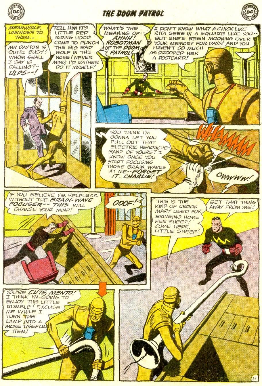 Doom Patrol (1964) issue 92 - Page 7
