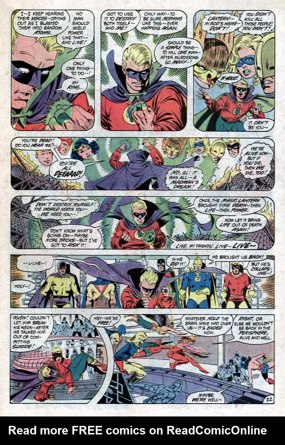 Read online All-Star Squadron comic -  Issue #20 - 25