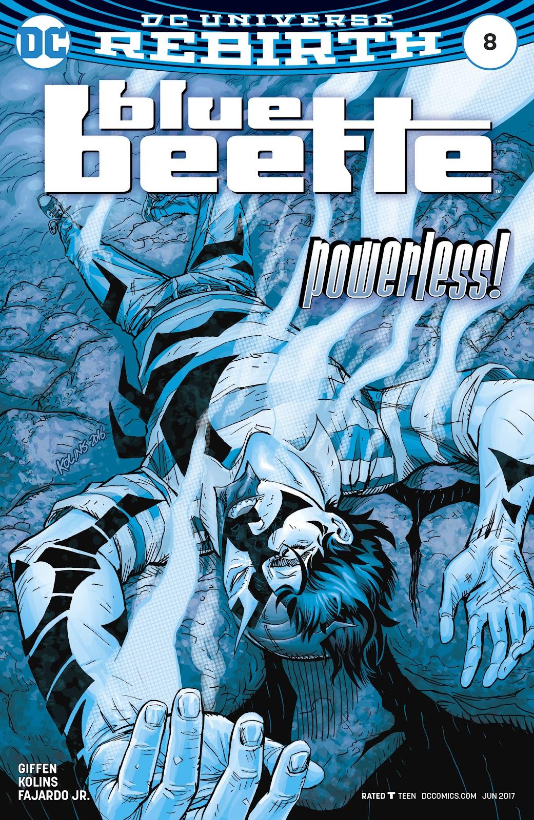 Blue Beetle (2016) 8 Page 1
