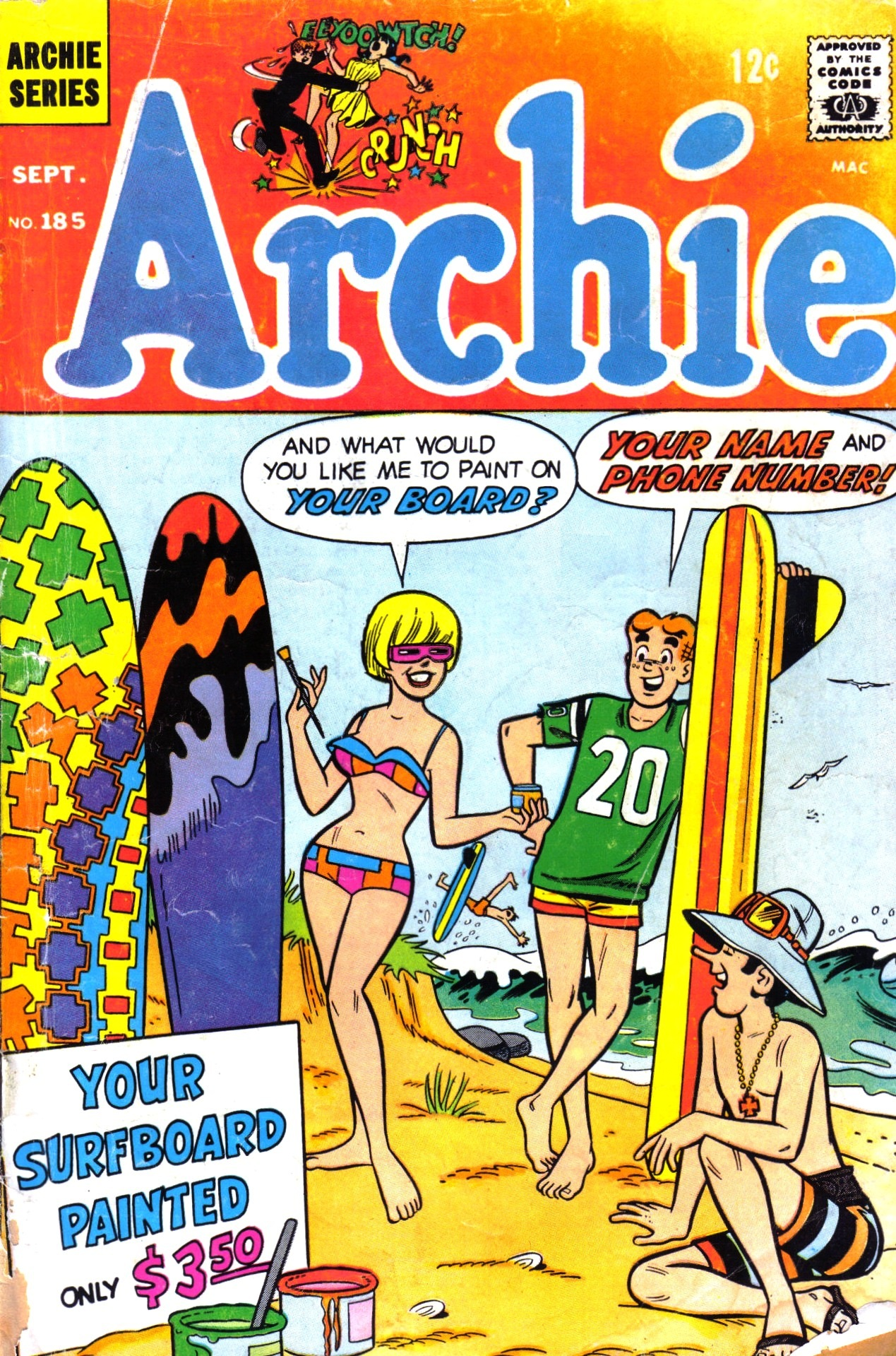Read online Archie (1960) comic -  Issue #185 - 1