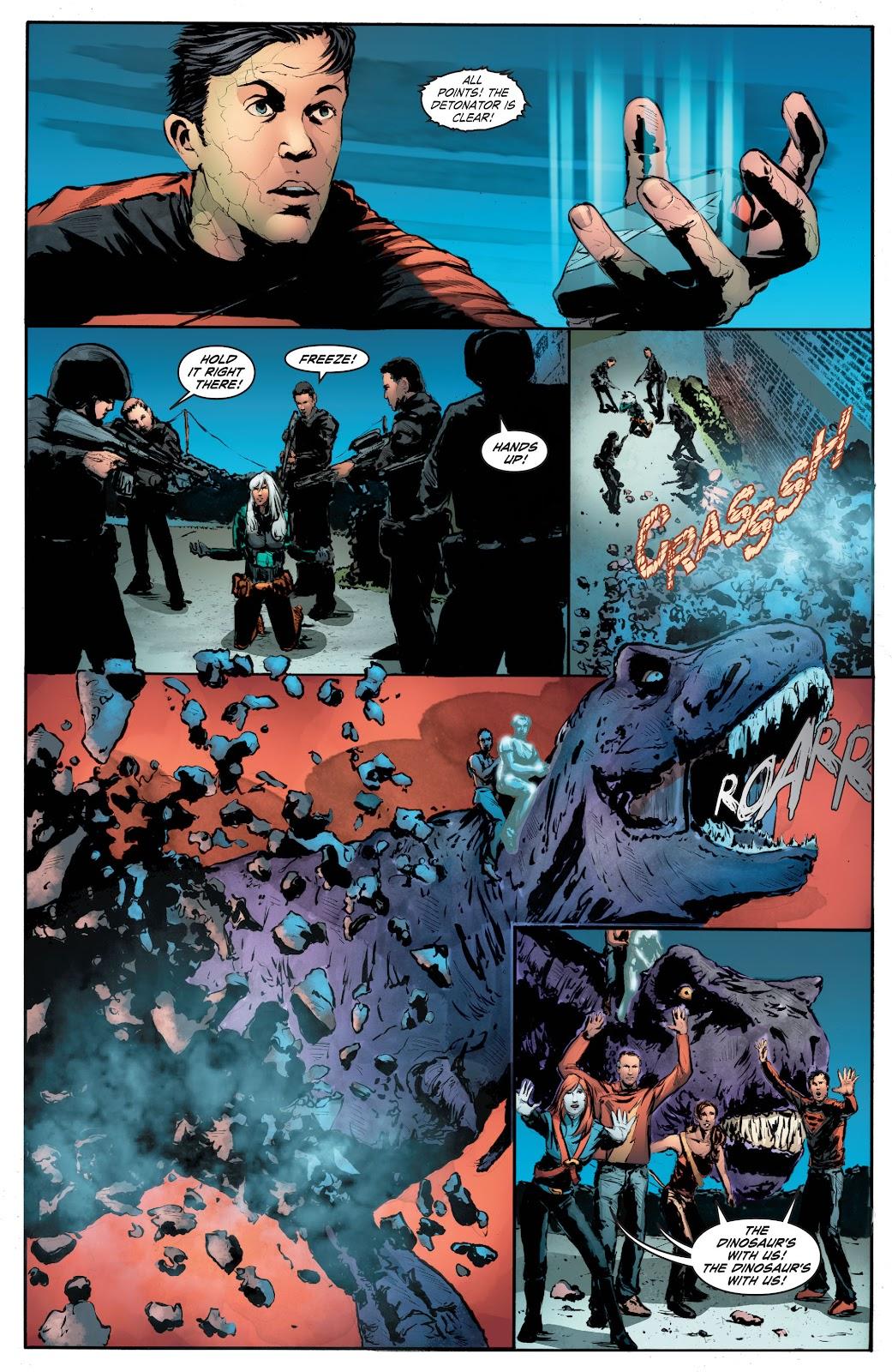 Read online Smallville Season 11 [II] comic -  Issue # TPB 7 - 172