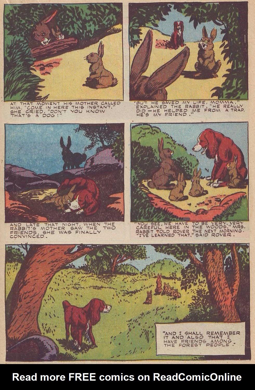 Read online Animal Comics comic -  Issue #20 - 31