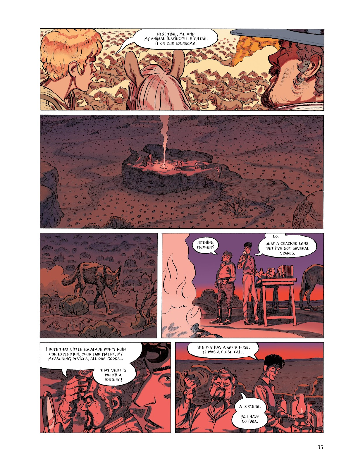 Read online The Smell of Starving Boys comic -  Issue # TPB - 36
