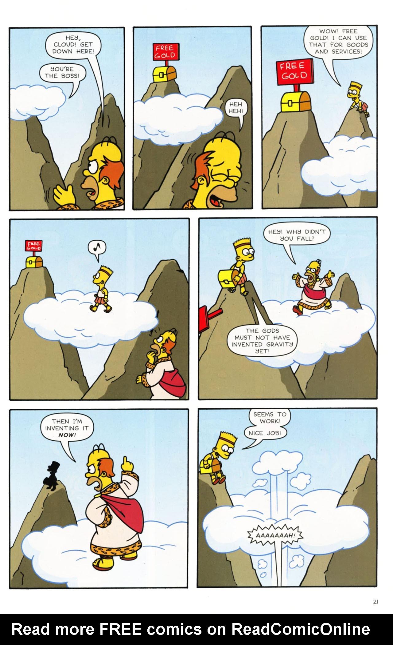 Read online Simpsons Comics comic -  Issue #168 - 16