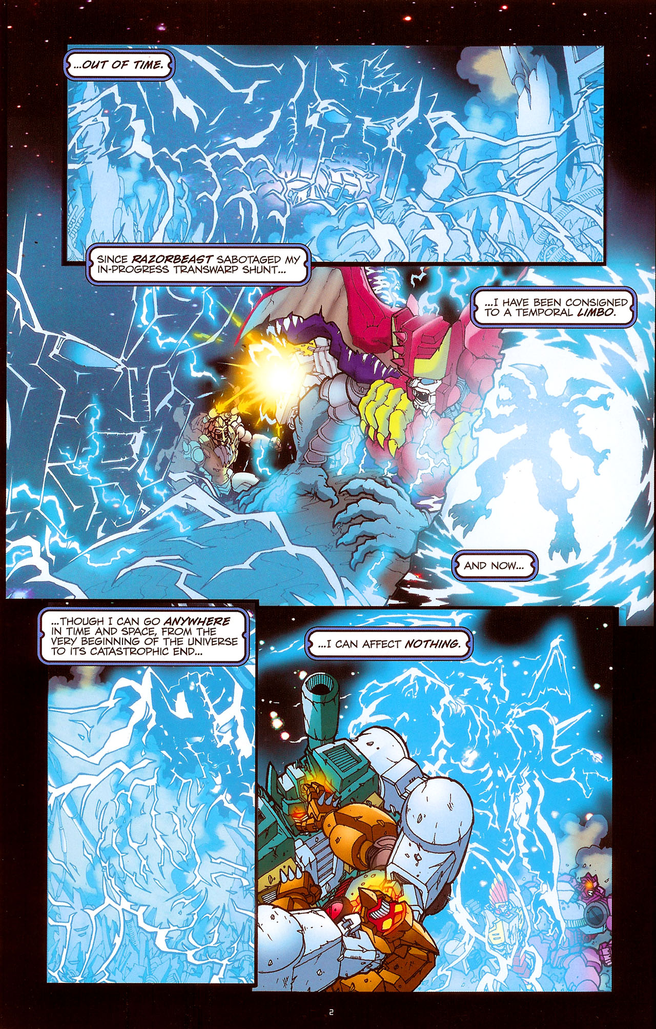 Read online Transformers: Beast Wars: The Ascending comic -  Issue #1 - 4