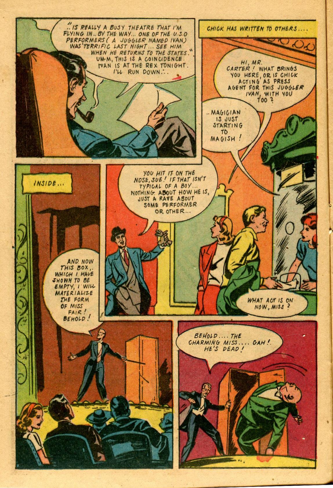 Read online Shadow Comics comic -  Issue #53 - 19