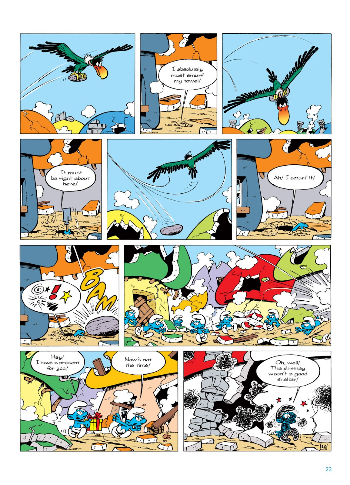 Read online The Smurfs comic -  Issue #6 - 23