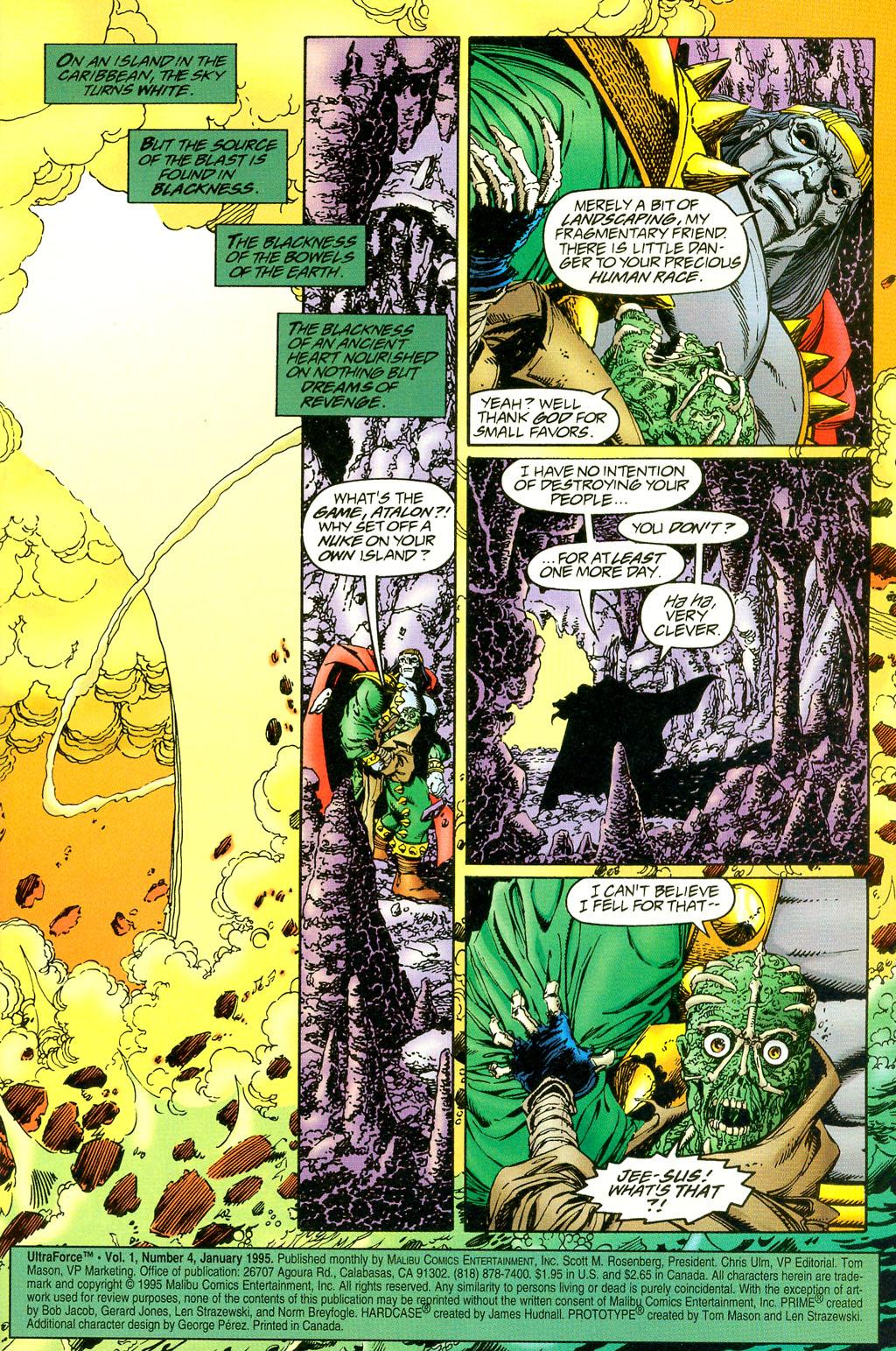 Read online UltraForce (1994) comic -  Issue #4 - 2