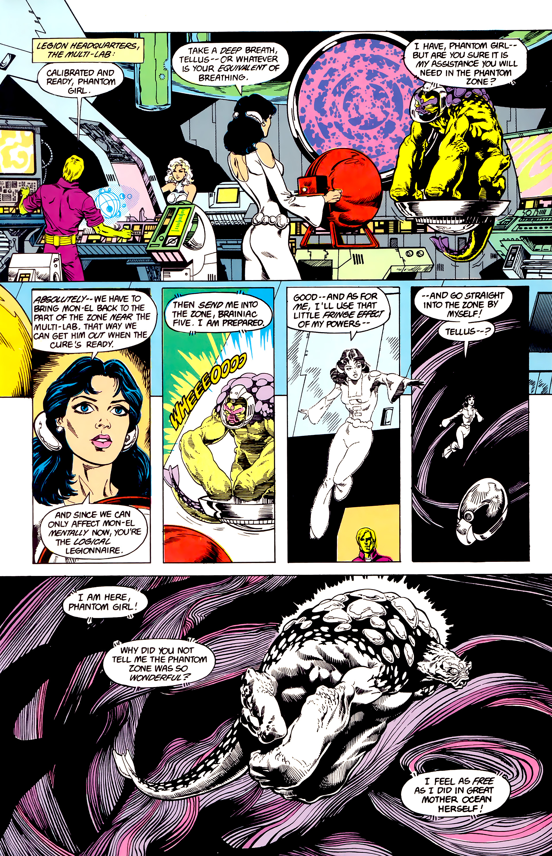 Legion of Super-Heroes (1984) 23 Page 14