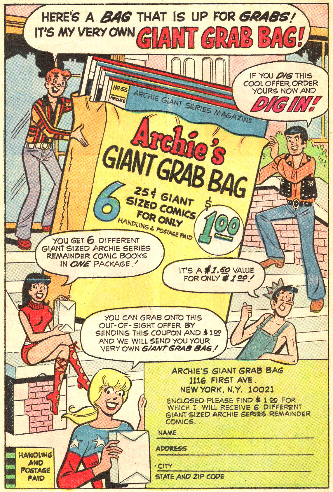 Read online Archie (1960) comic -  Issue #213 - 20