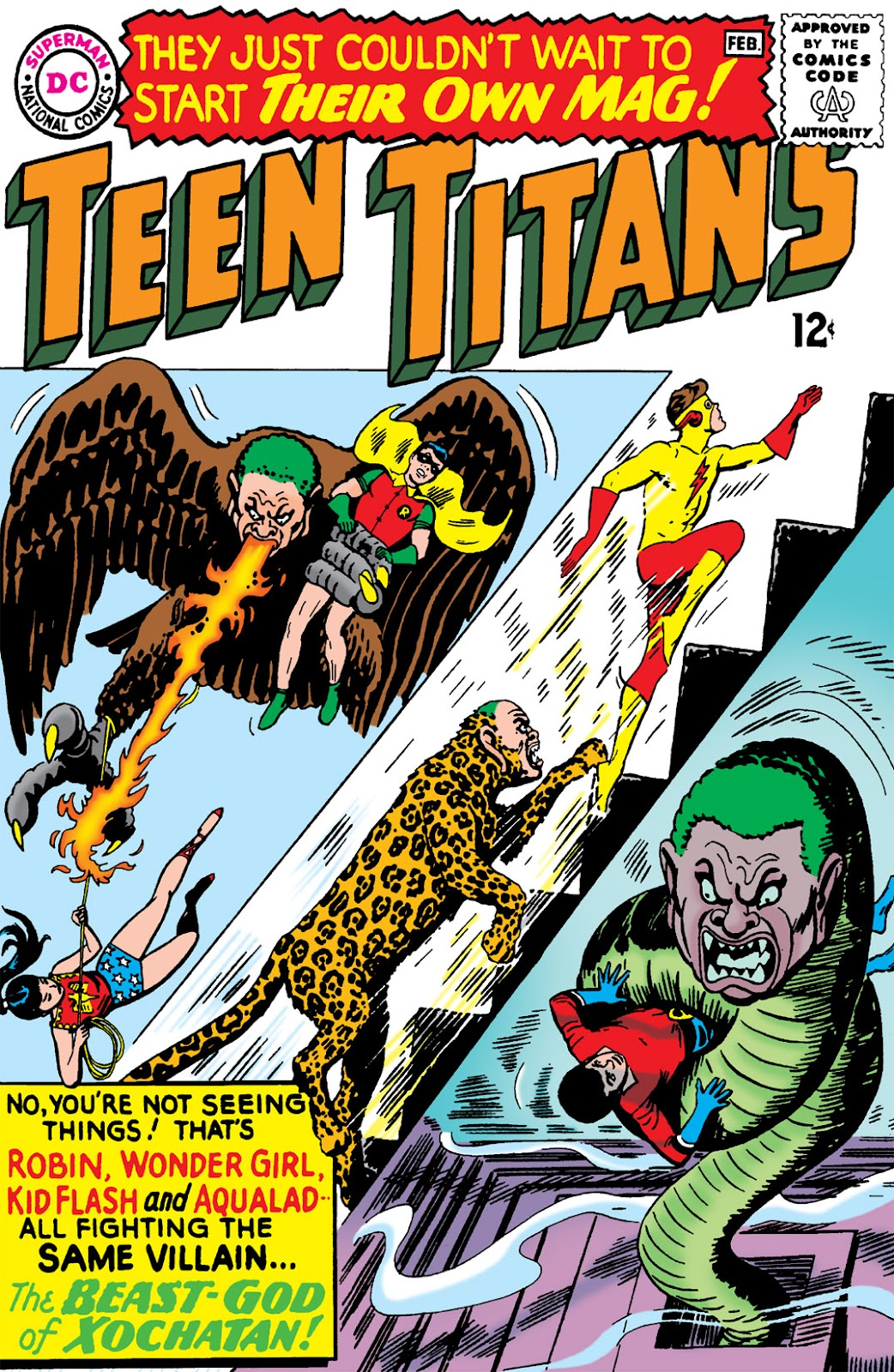 Teen Titans (1966) issue 1 - Page 1