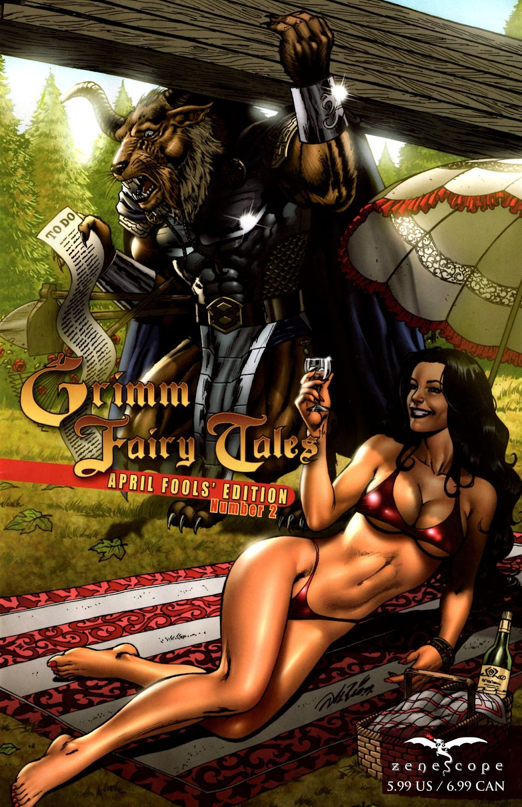 Grimm Fairy Tales: April Fools' Edition issue 2 - Page 1