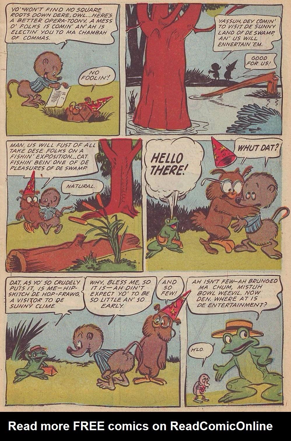 Read online Animal Comics comic -  Issue #20 - 15