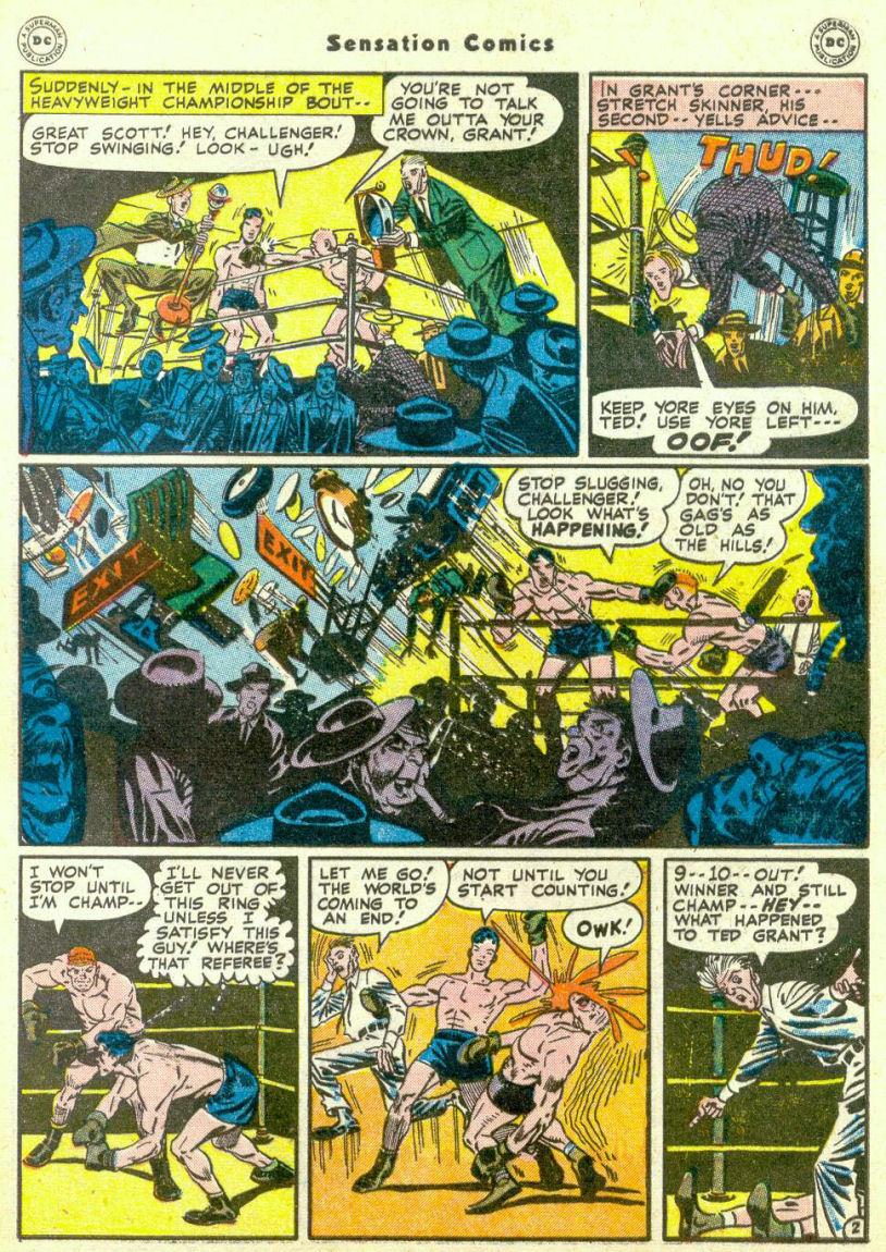 Read online Sensation (Mystery) Comics comic -  Issue #67 - 43