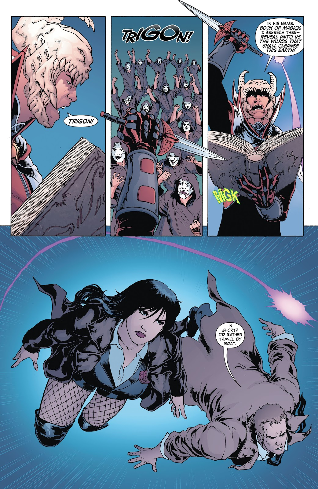 Read online Smallville Season 11 [II] comic -  Issue # TPB 8 - 31