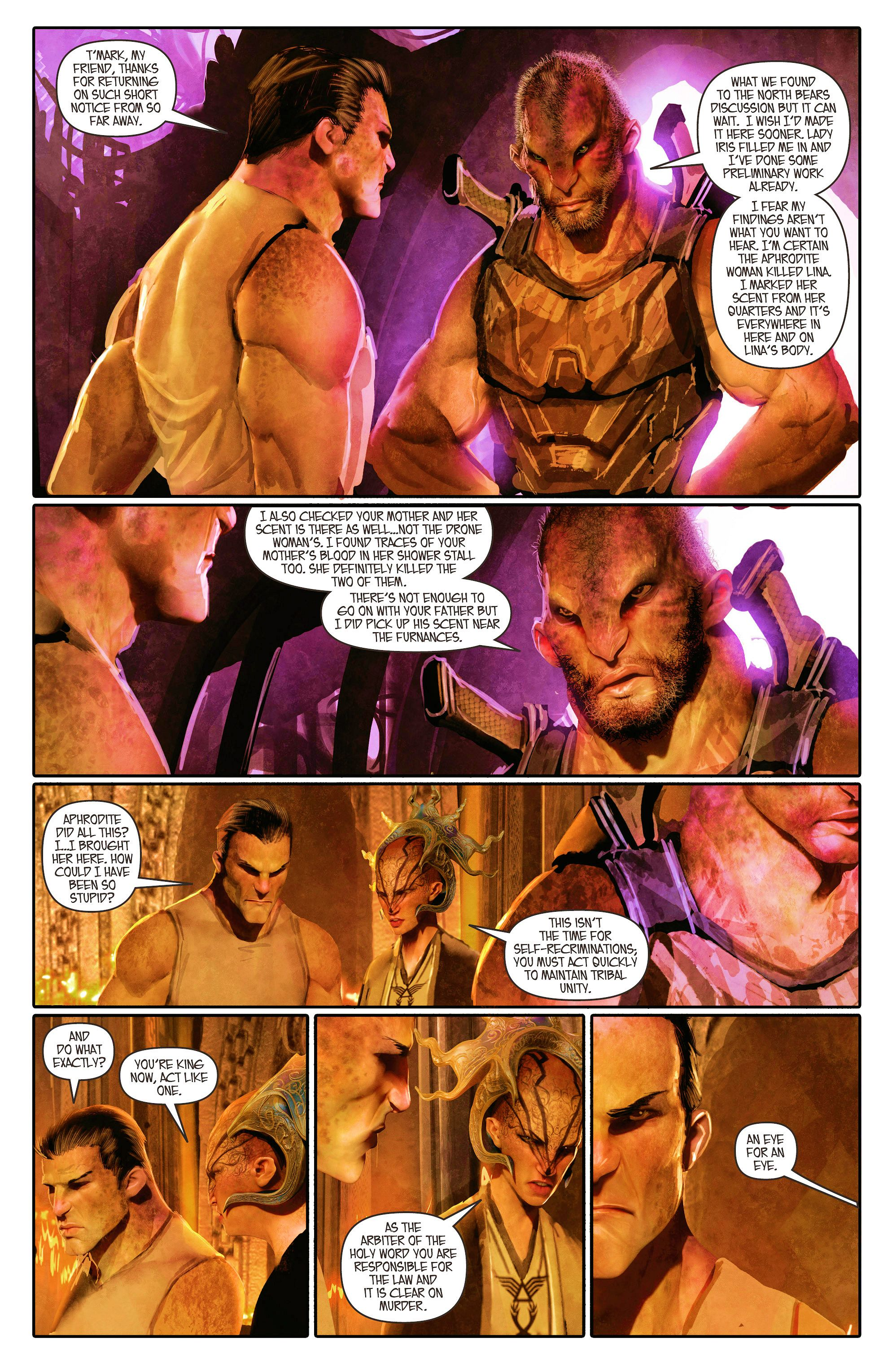 Read online Aphrodite IX (2013) comic -  Issue #4 - 8