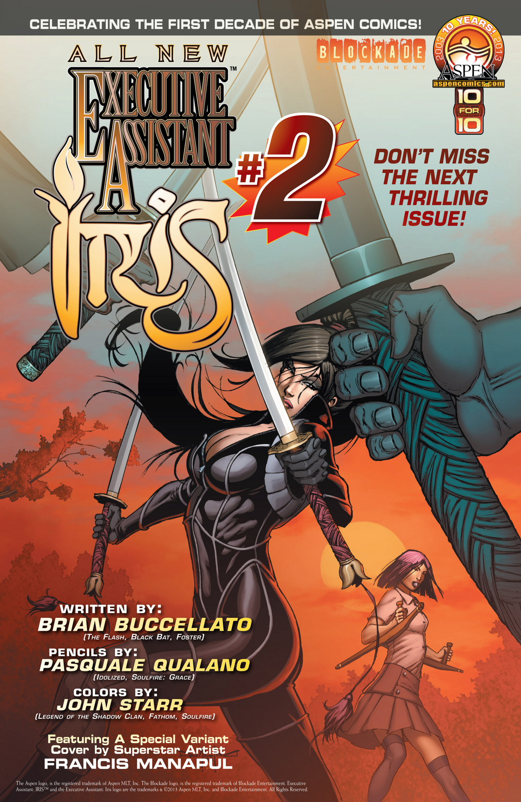 Read online All New Executive Assistant: Iris comic -  Issue #1 - 22