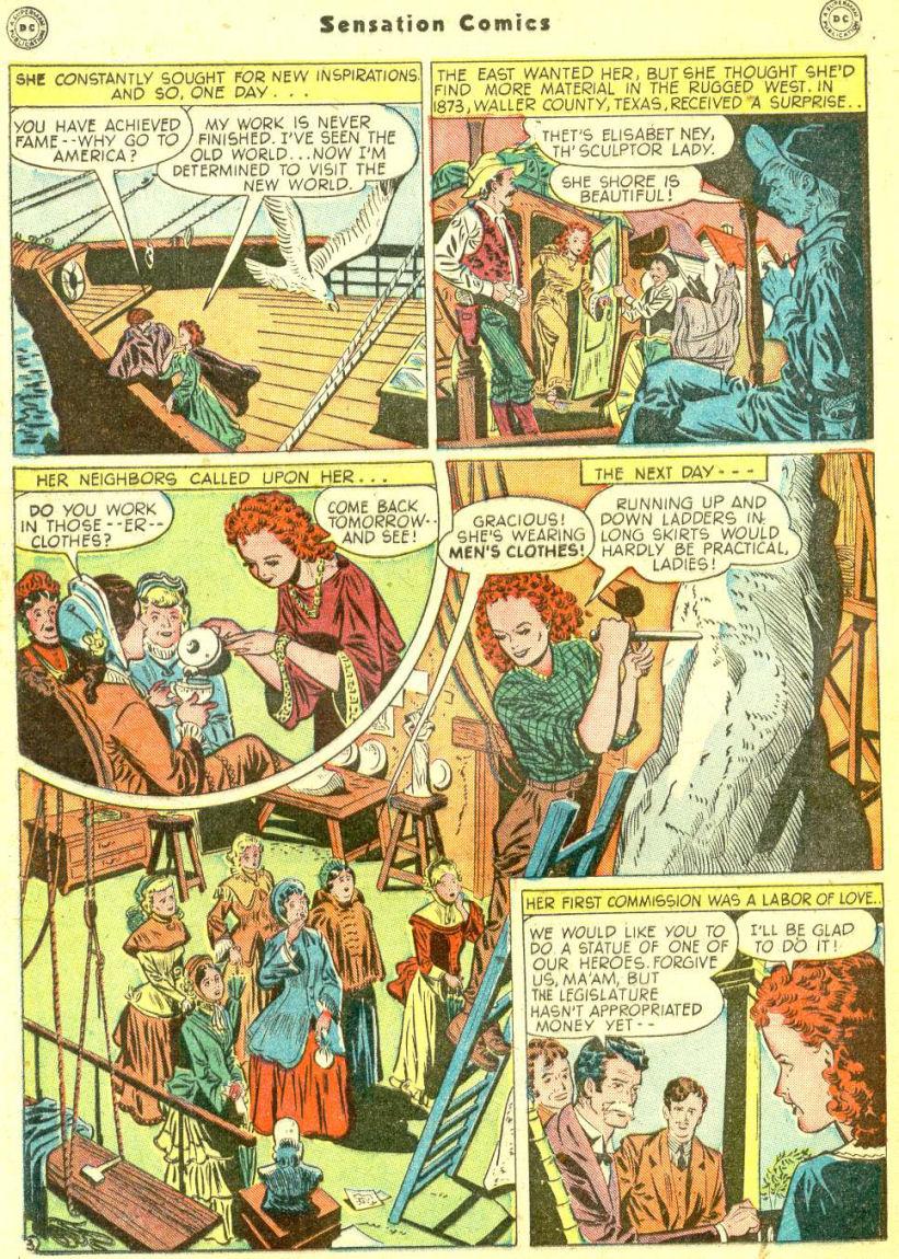 Read online Sensation (Mystery) Comics comic -  Issue #87 - 34