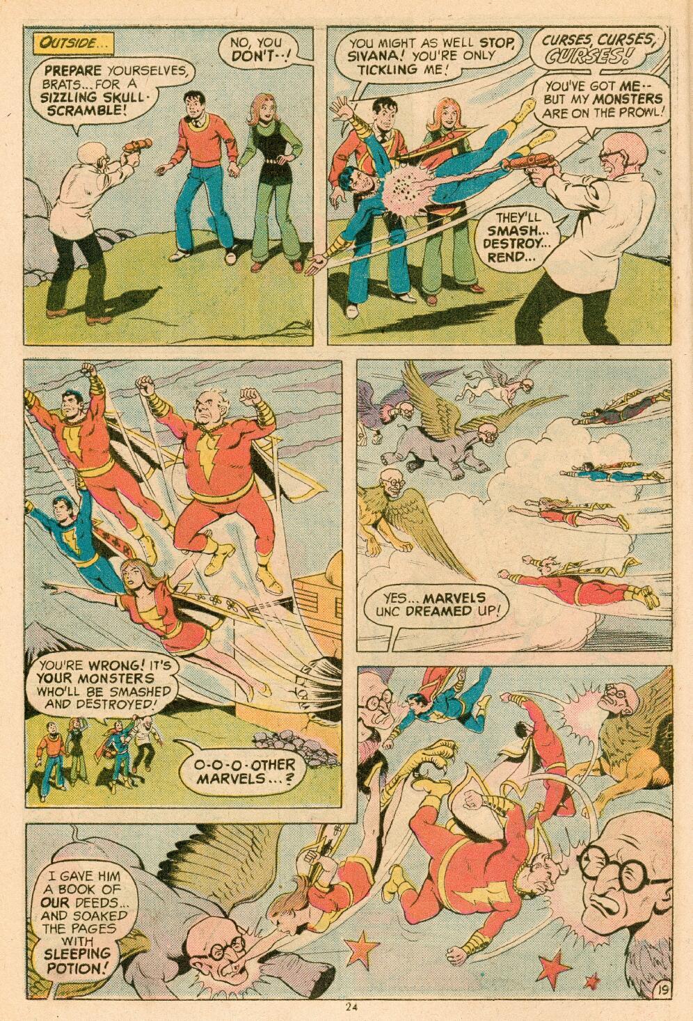 Read online Shazam! (1973) comic -  Issue #14 - 21