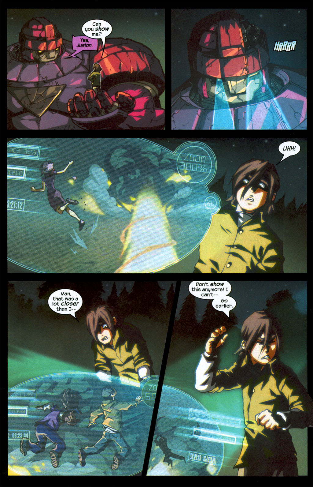 Read online Sentinel (2006) comic -  Issue #1 - 20