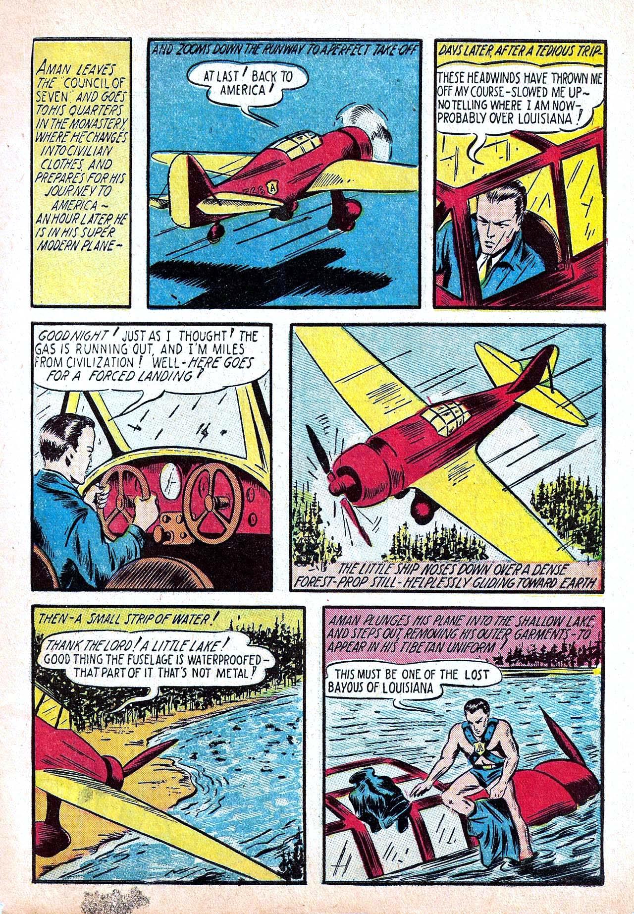 Read online Amazing Man Comics comic -  Issue #11 - 5