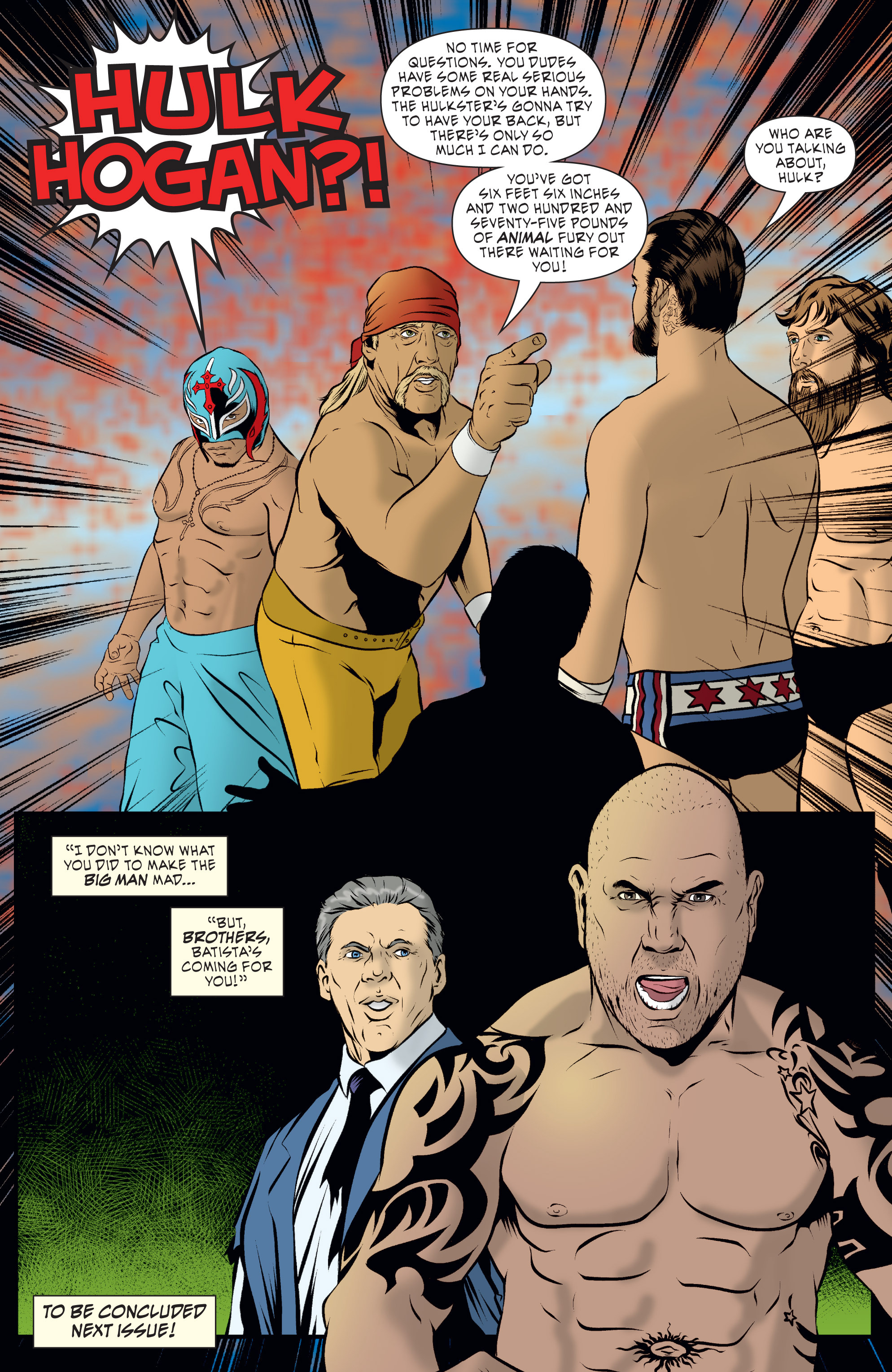 Read online WWE Superstars comic -  Issue #7 - 22