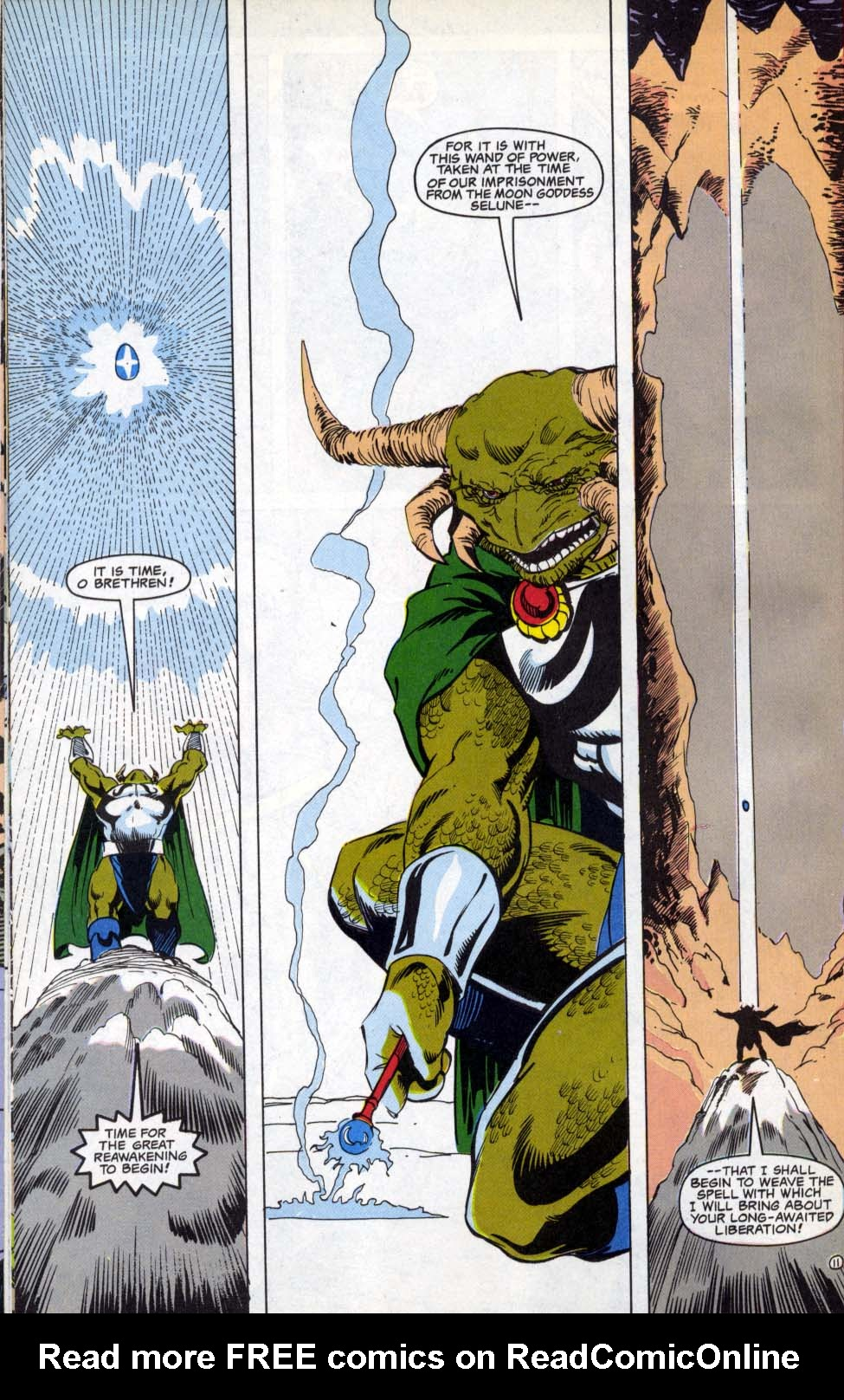 Read online Advanced Dungeons & Dragons comic -  Issue #4 - 11