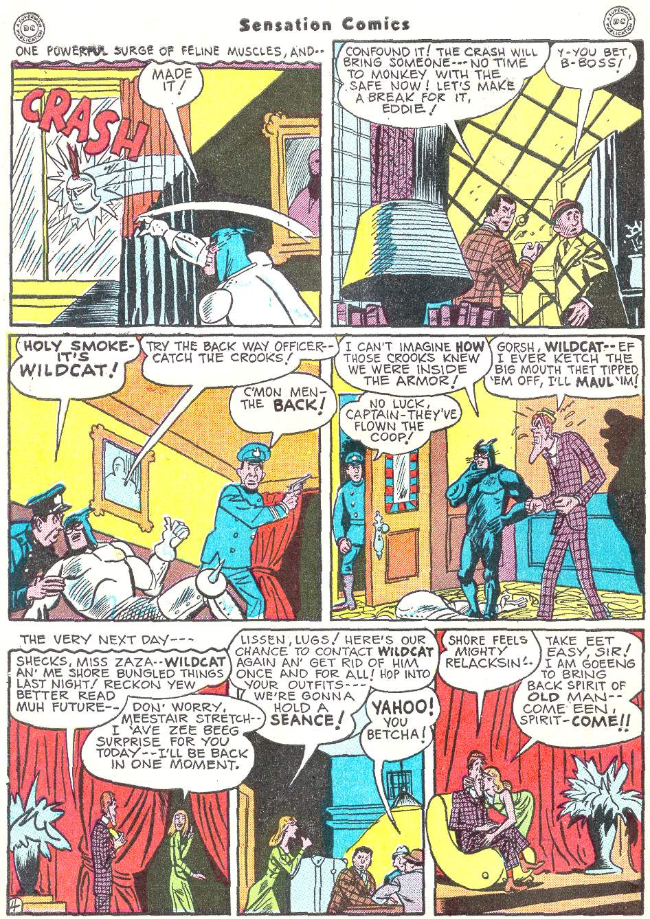 Read online Sensation (Mystery) Comics comic -  Issue #50 - 44