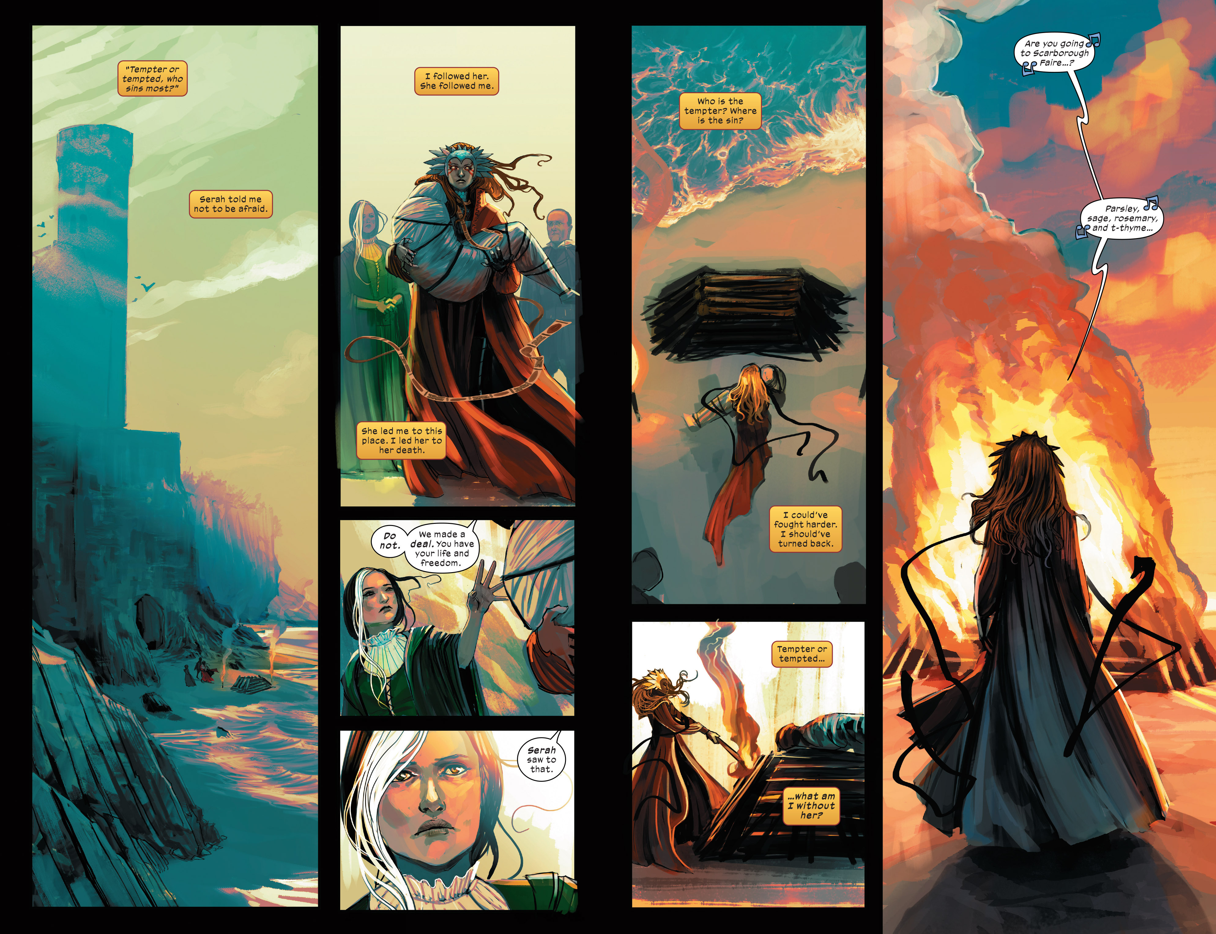 Read online 1602 Witch Hunter Angela comic -  Issue #3 - 18
