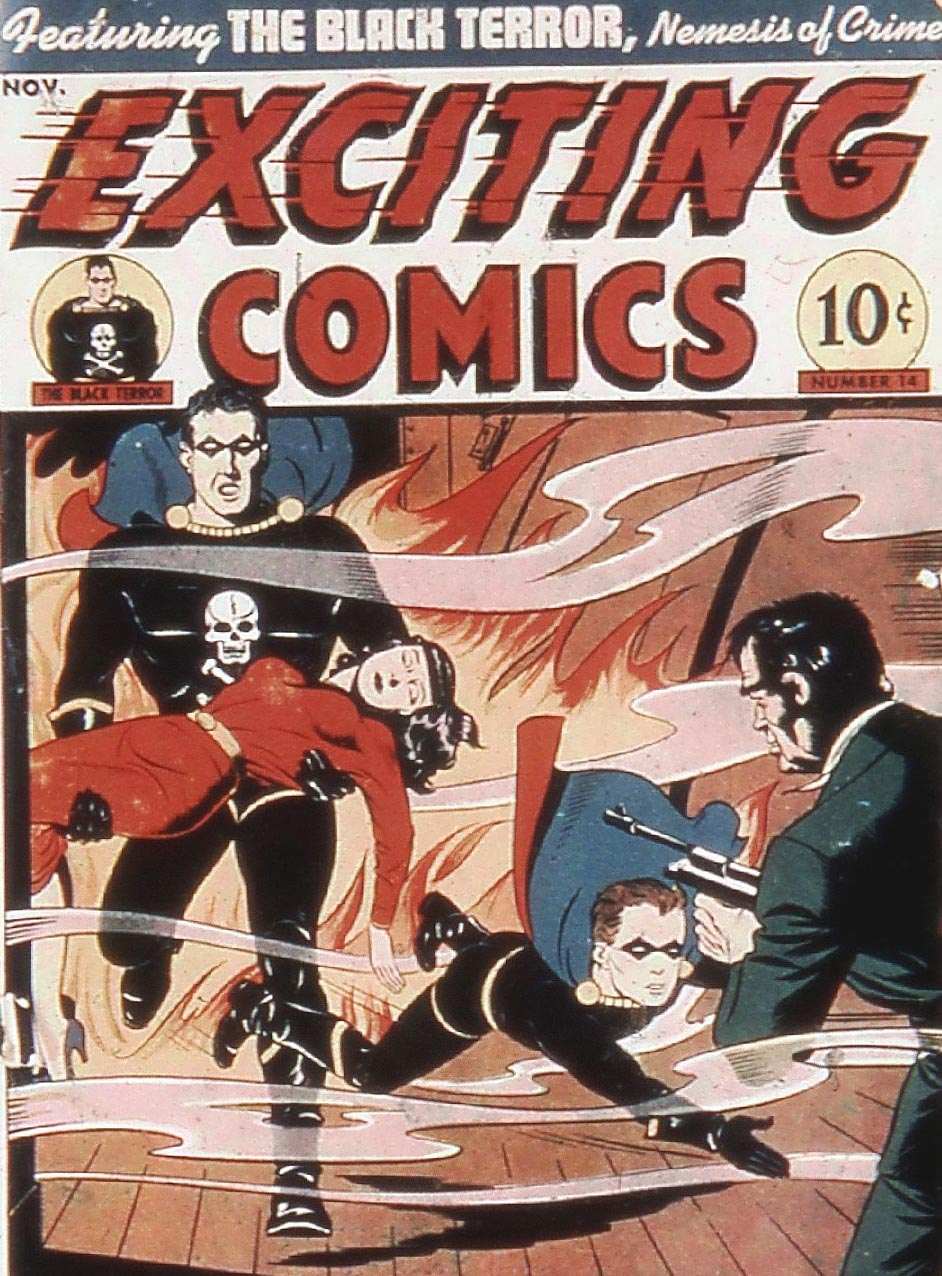 Exciting Comics (1940) issue 14 - Page 1