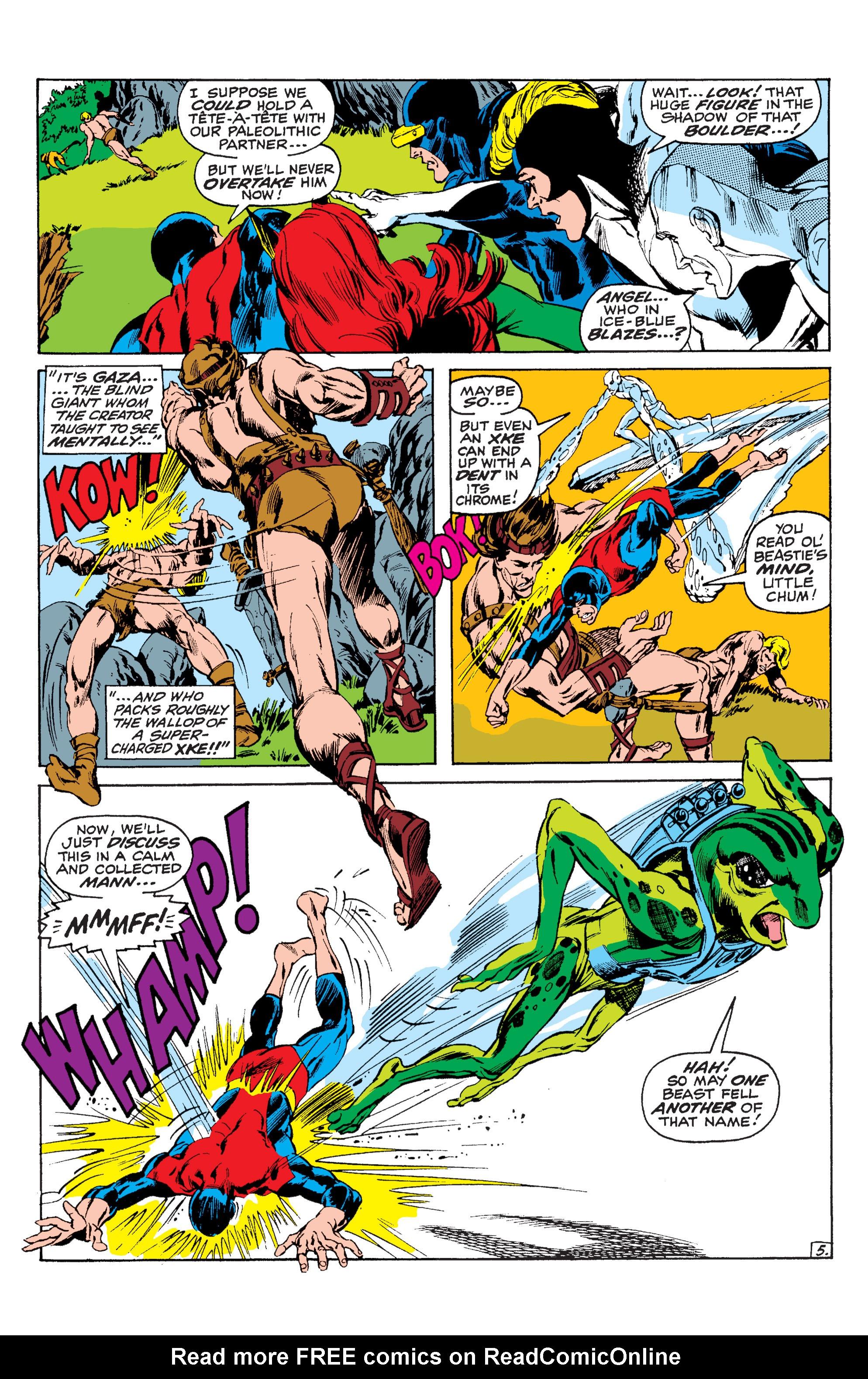 Read online Uncanny X-Men (1963) comic -  Issue #63 - 6