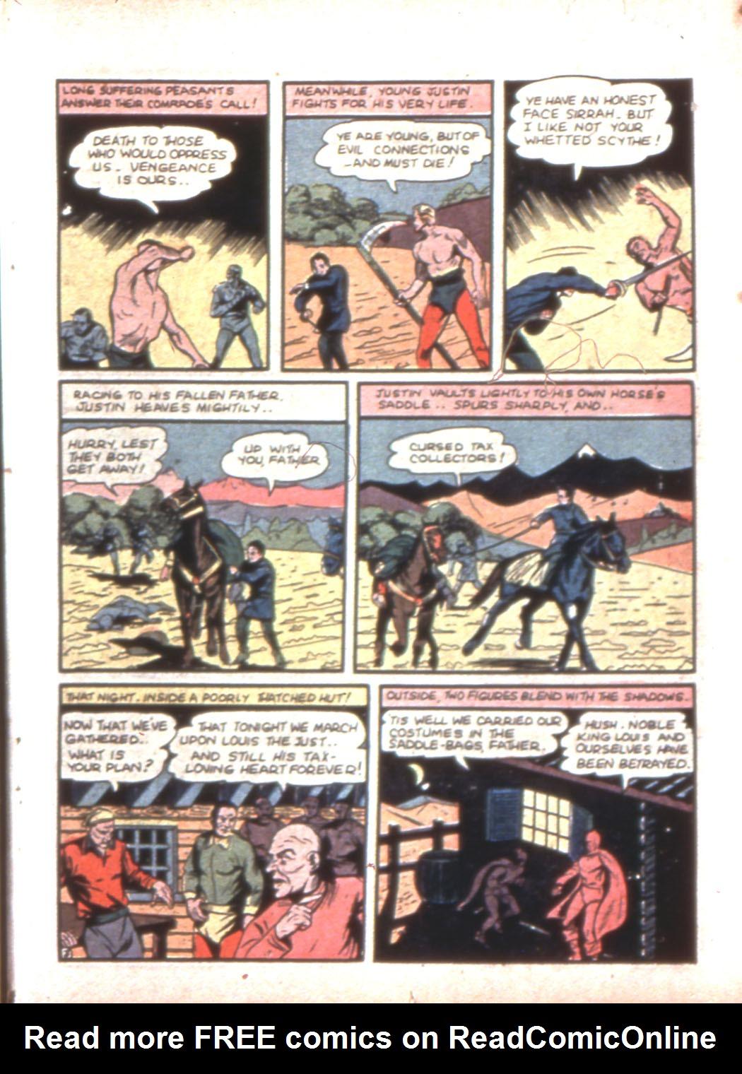 Read online Sensation (Mystery) Comics comic -  Issue #11 - 19