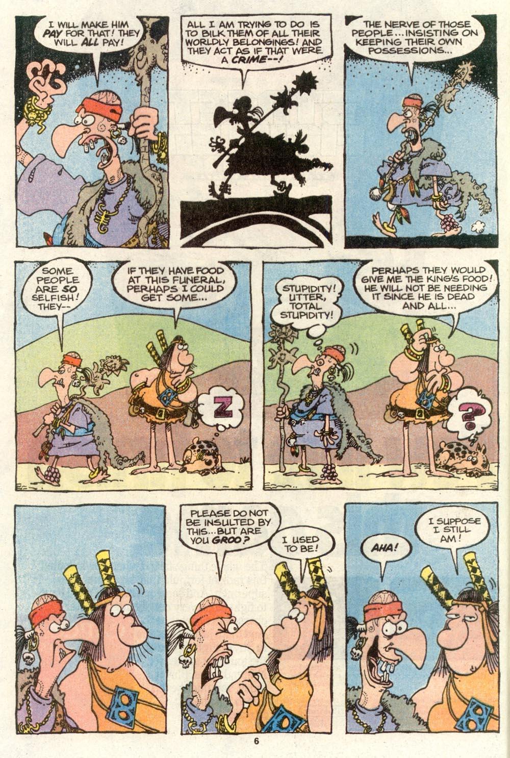 Read online Sergio Aragonés Groo the Wanderer comic -  Issue #72 - 5