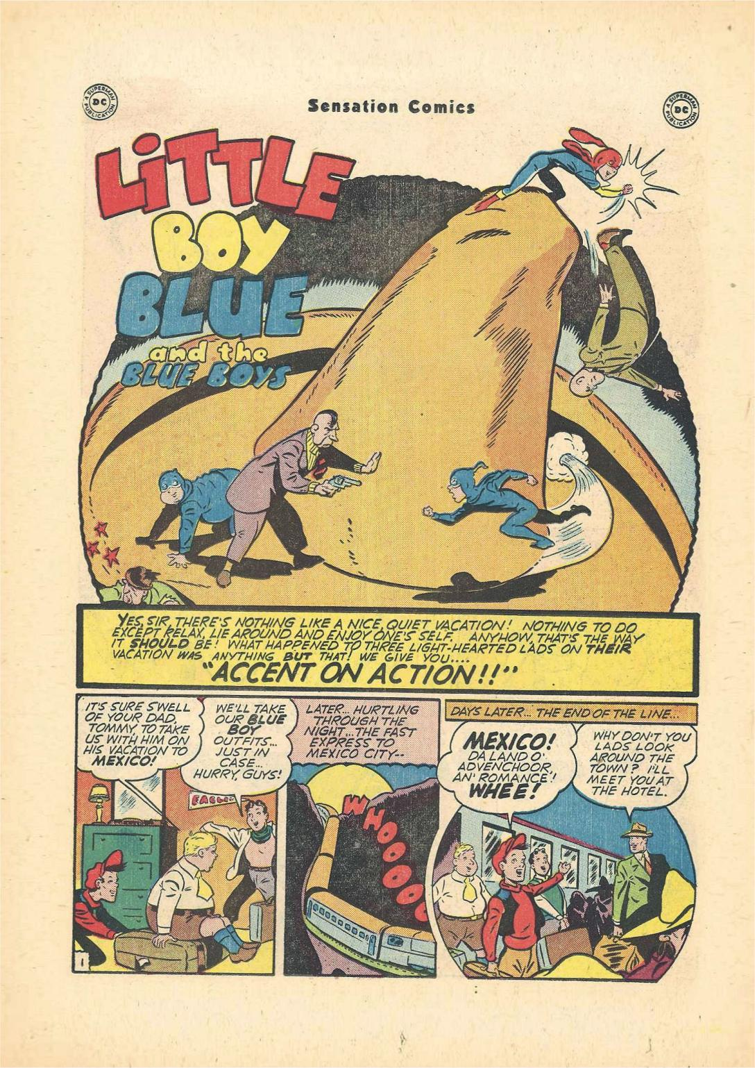Read online Sensation (Mystery) Comics comic -  Issue #55 - 17
