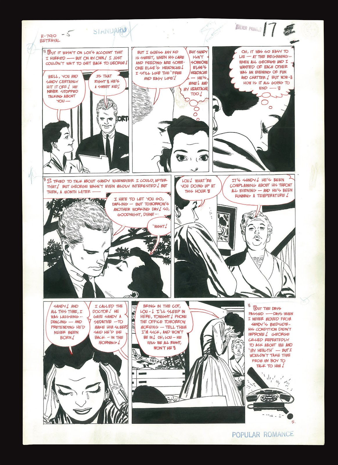 Read online Setting the Standard: Comics by Alex Toth 1952-1954 comic -  Issue # TPB (Part 4) - 122